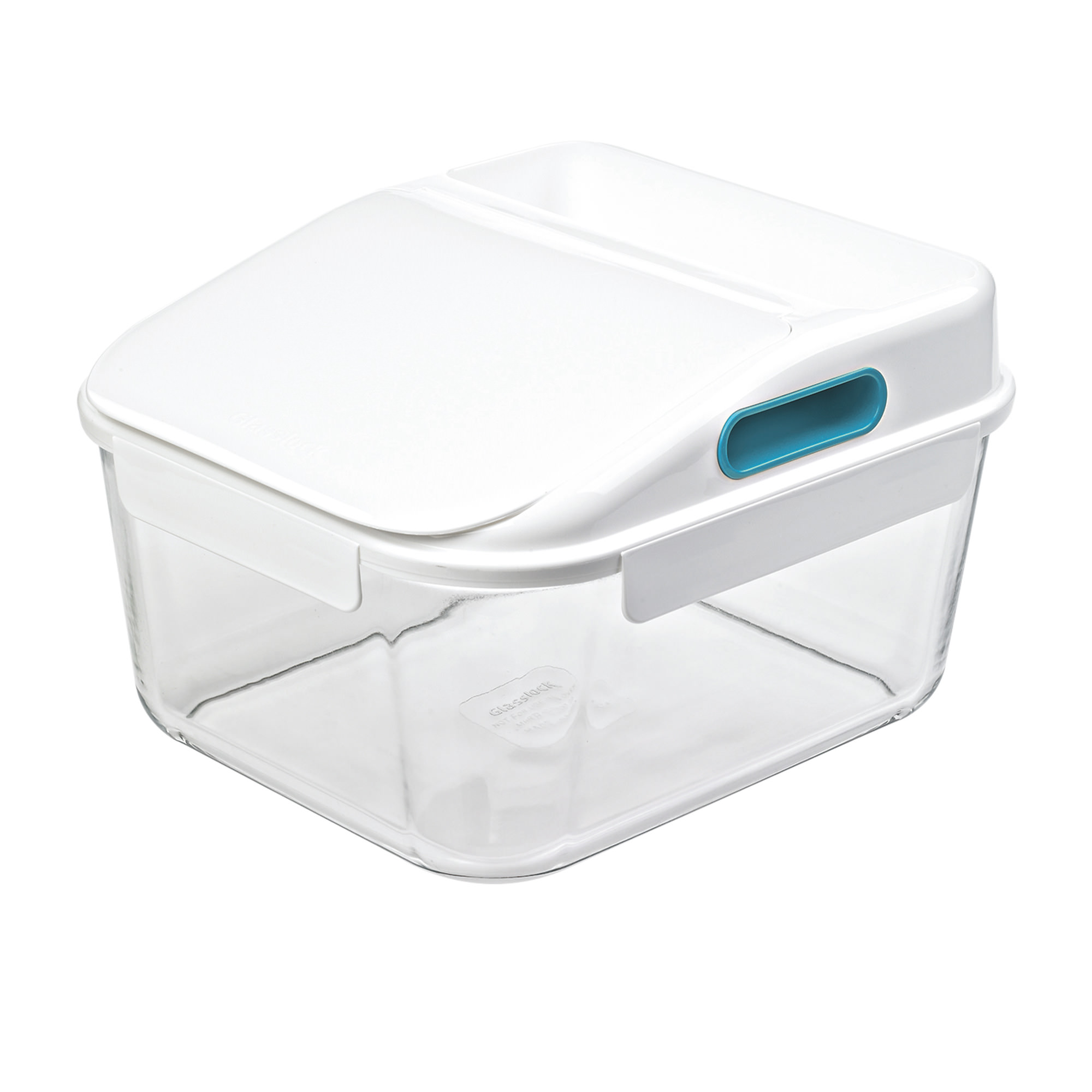 Glasslock Large Capacity Storage Container 12L White