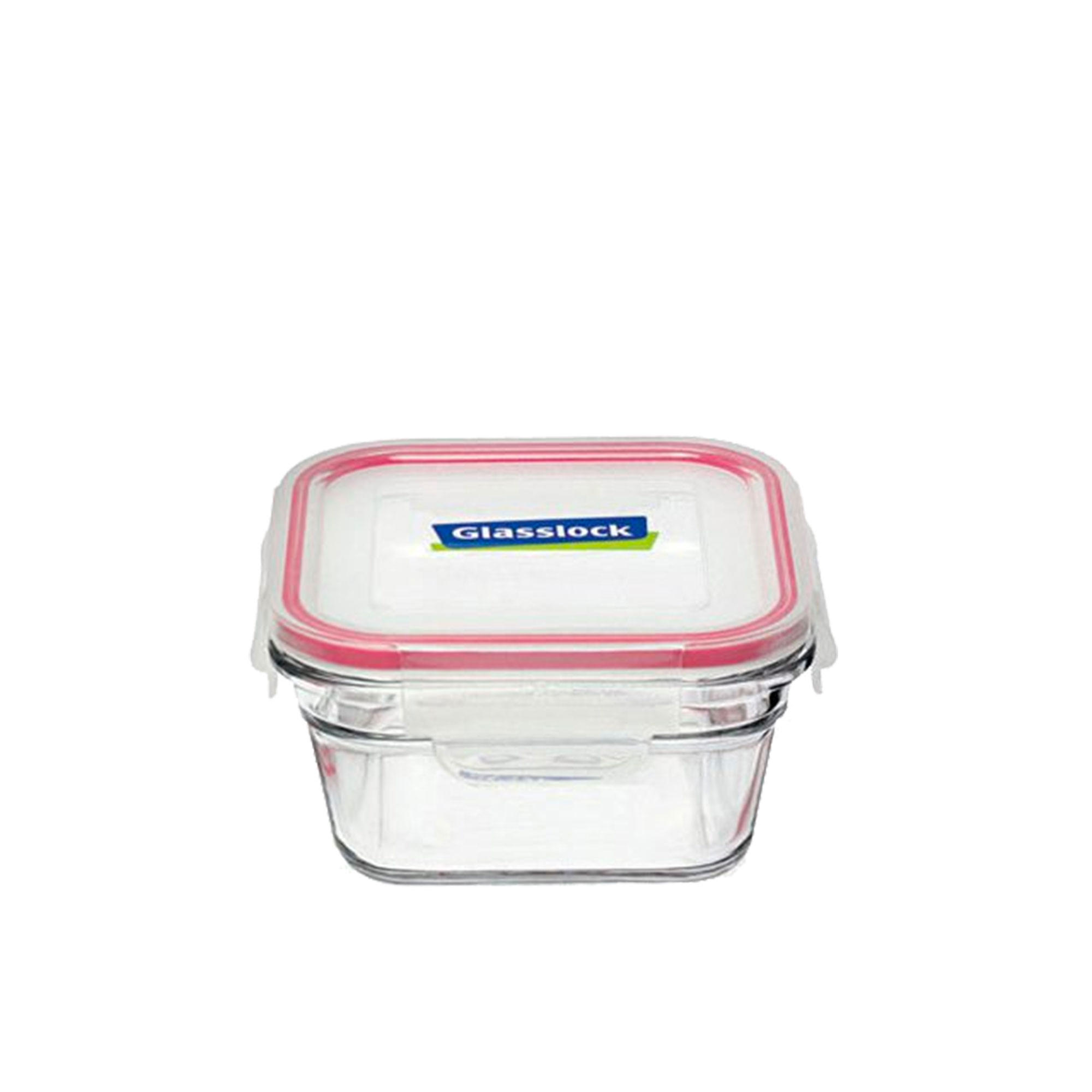 Glasslock Oven Safe Square Container 400ml