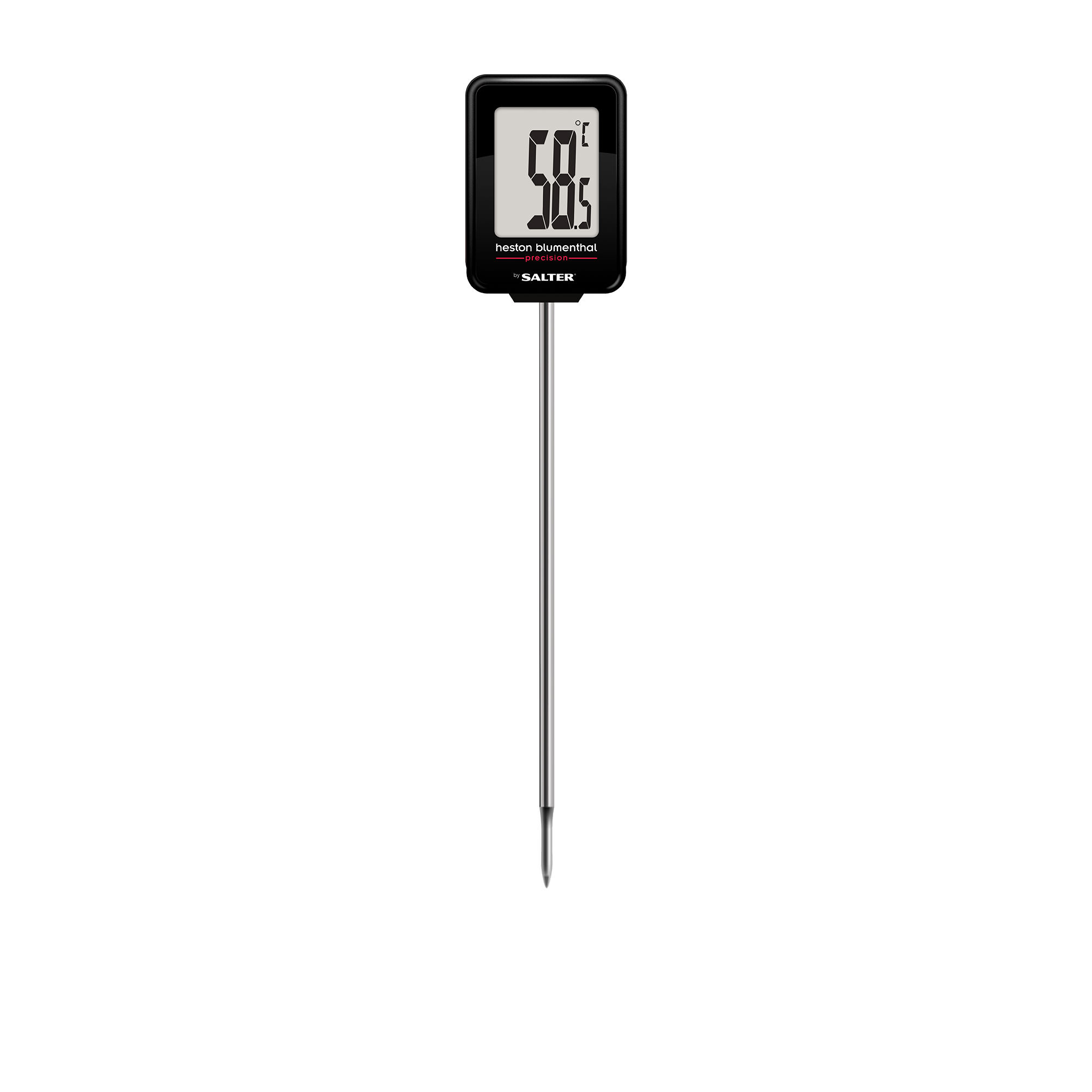 Heston Blumenthal Precision by Salter Digital Instant Read Thermometer Black