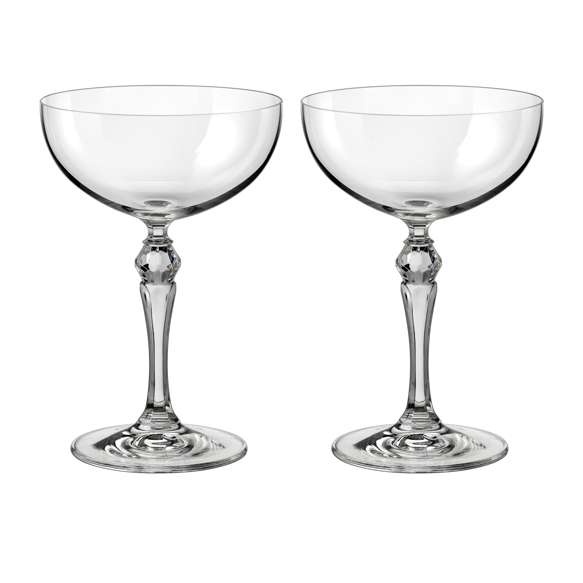 Noritake IVV 1815 2pc Champagne Cocktail Cup Set 170ml