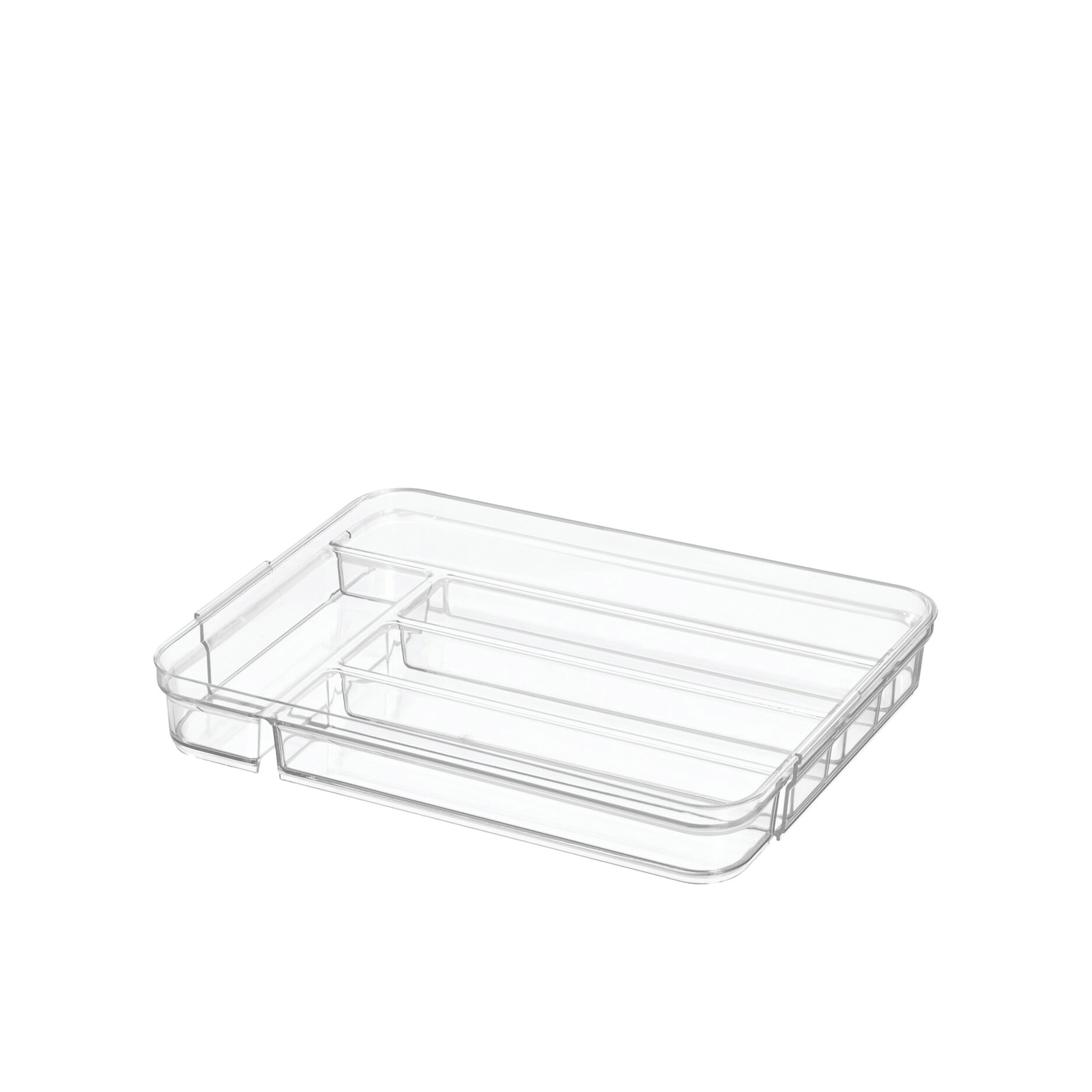 Interdesign Crisp Expandable Cutlery Tray 24.9x36x5cm