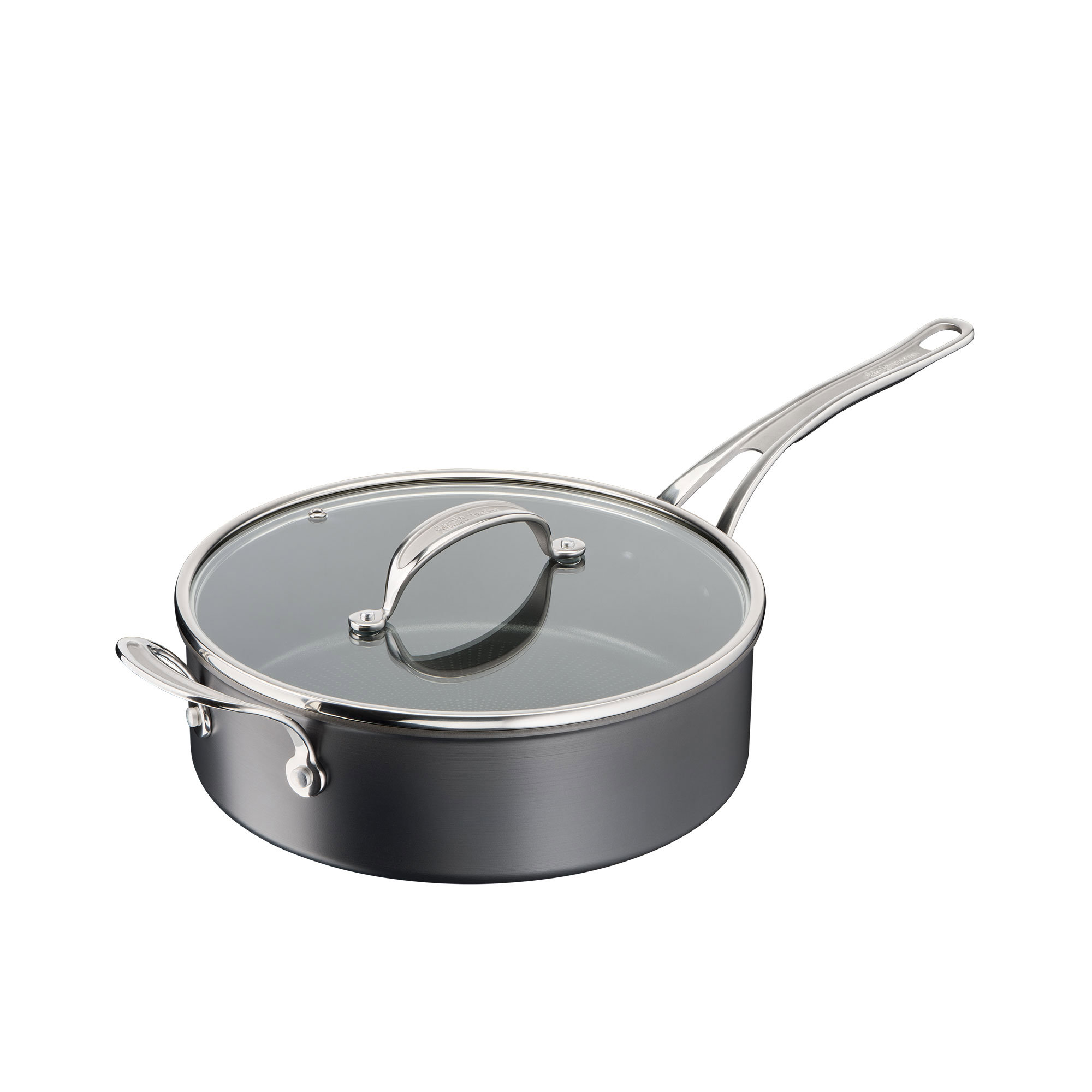Jamie Oliver Cook's Classic Hard Anodised Induction Saute Pan 26cm