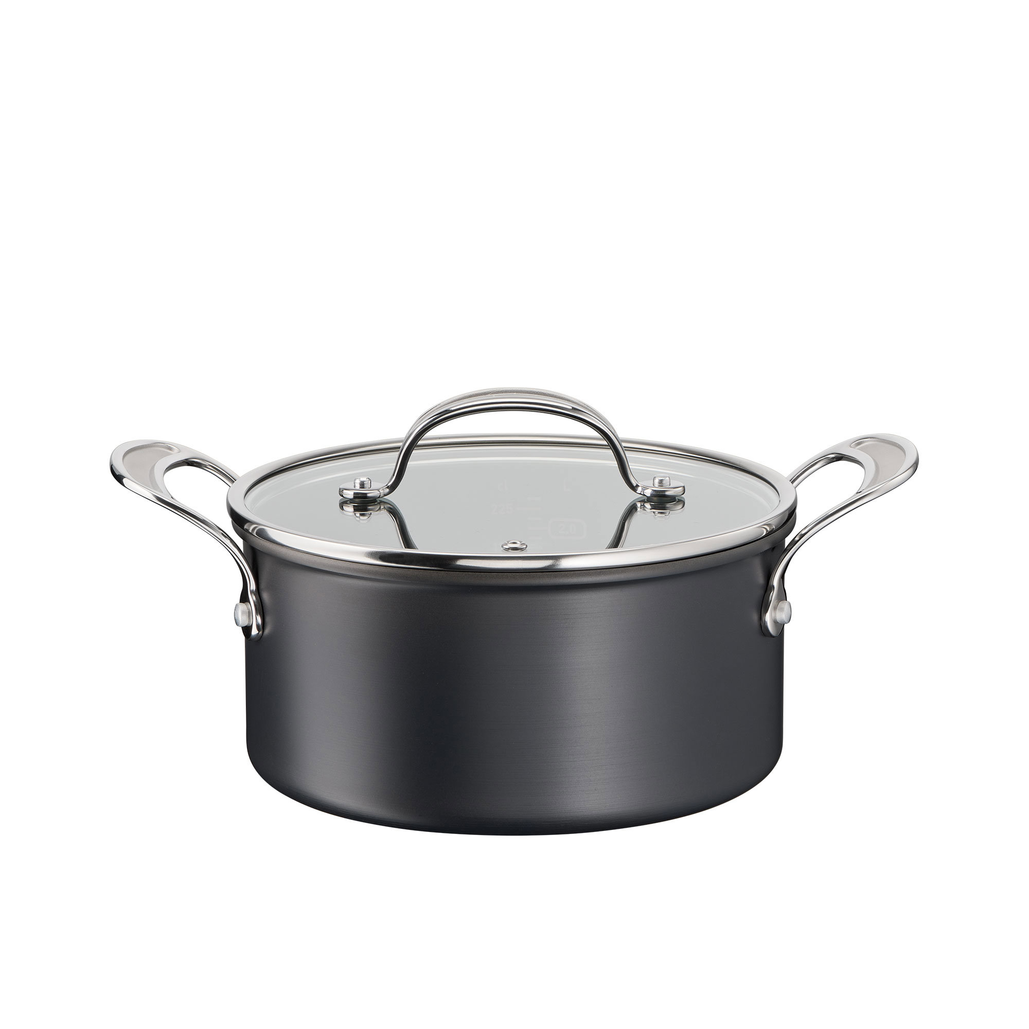 Jamie Oliver Cook's Classic Hard Anodised Induction Stewpot 24cm - 5L