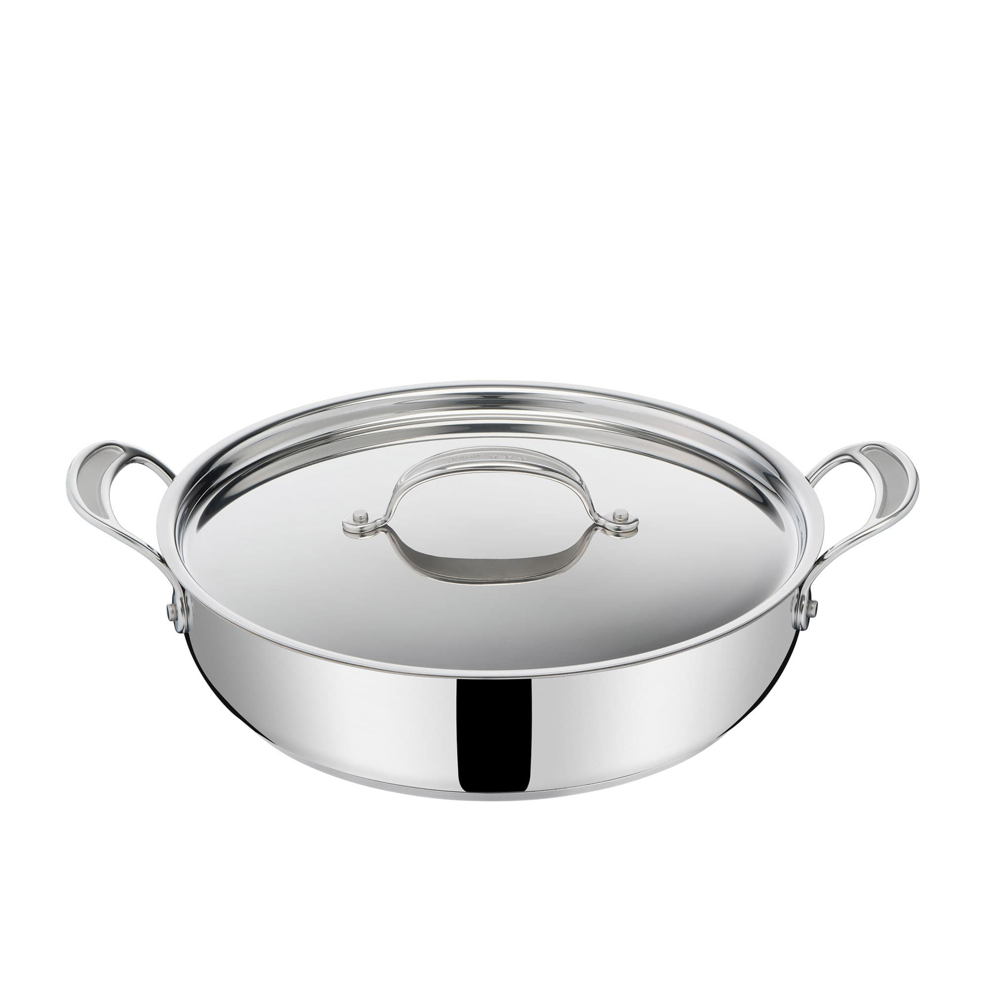 Jamie Oliver Cook's Classic Stainless Steel Induction Shallow Pan 30cm