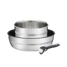<b>Jamie Oliver</b> by <b>Tefal</b> Ingenio 3pc Saucepan Set