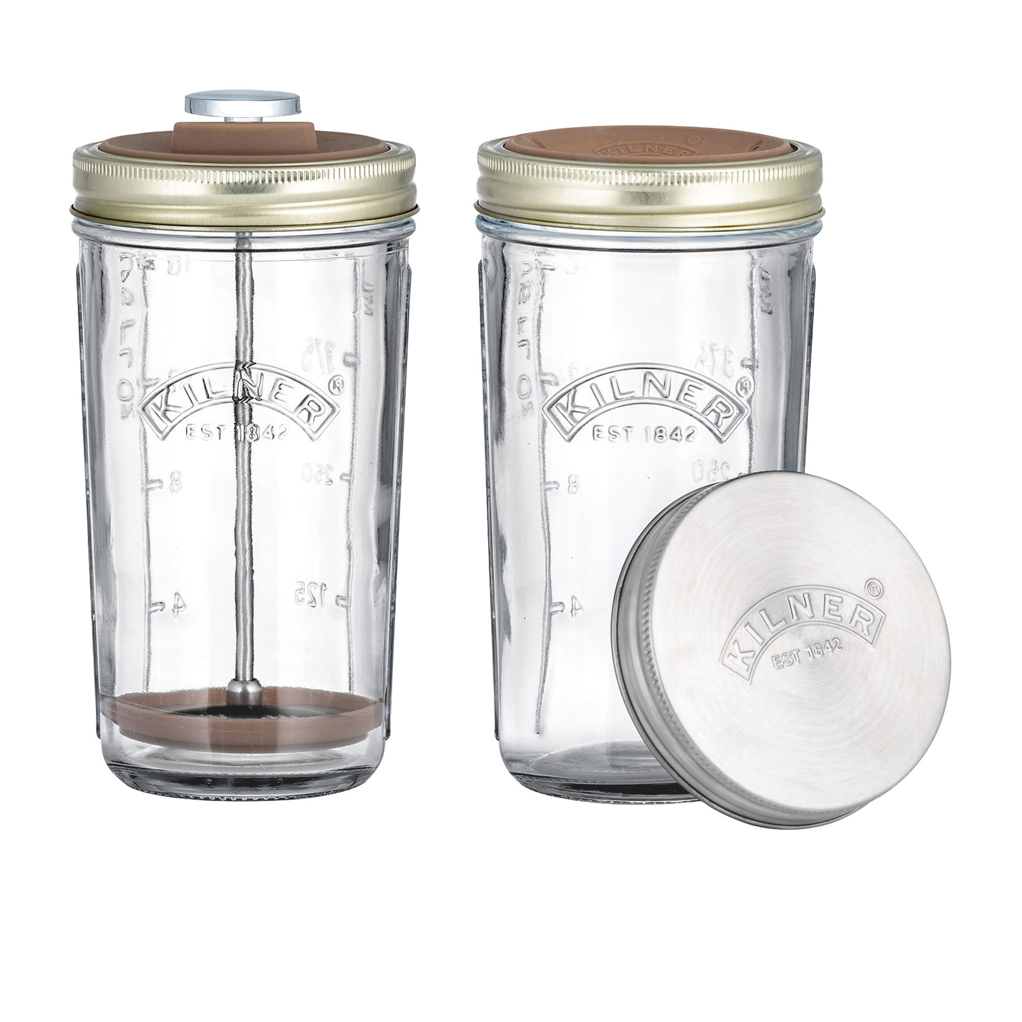 Kilner Create and Make Nut Drink Making Set 500ml