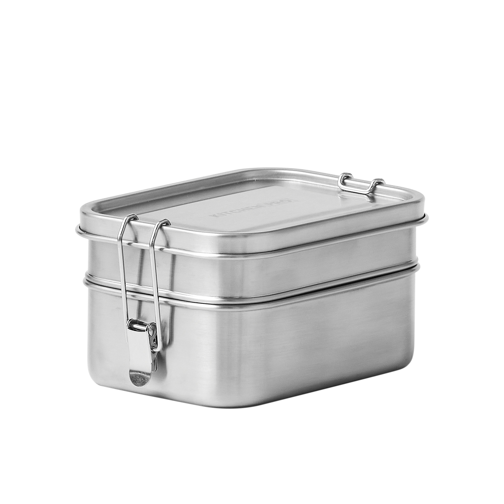 Kitchen Pro Bento Stainless Steel Stacking Lunch Box 540ml + 800ml
