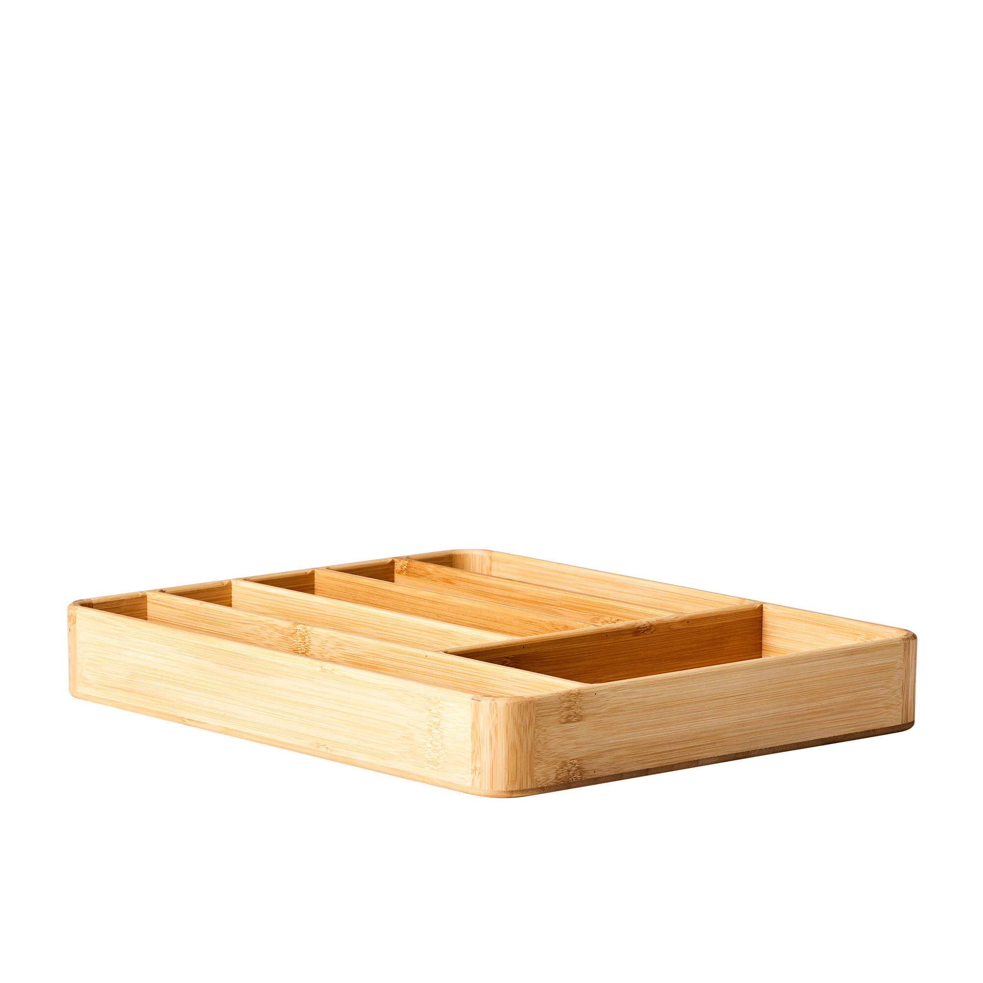 Kitchen Pro Eco Cutlery Tray 40x33x5.5cm Natural