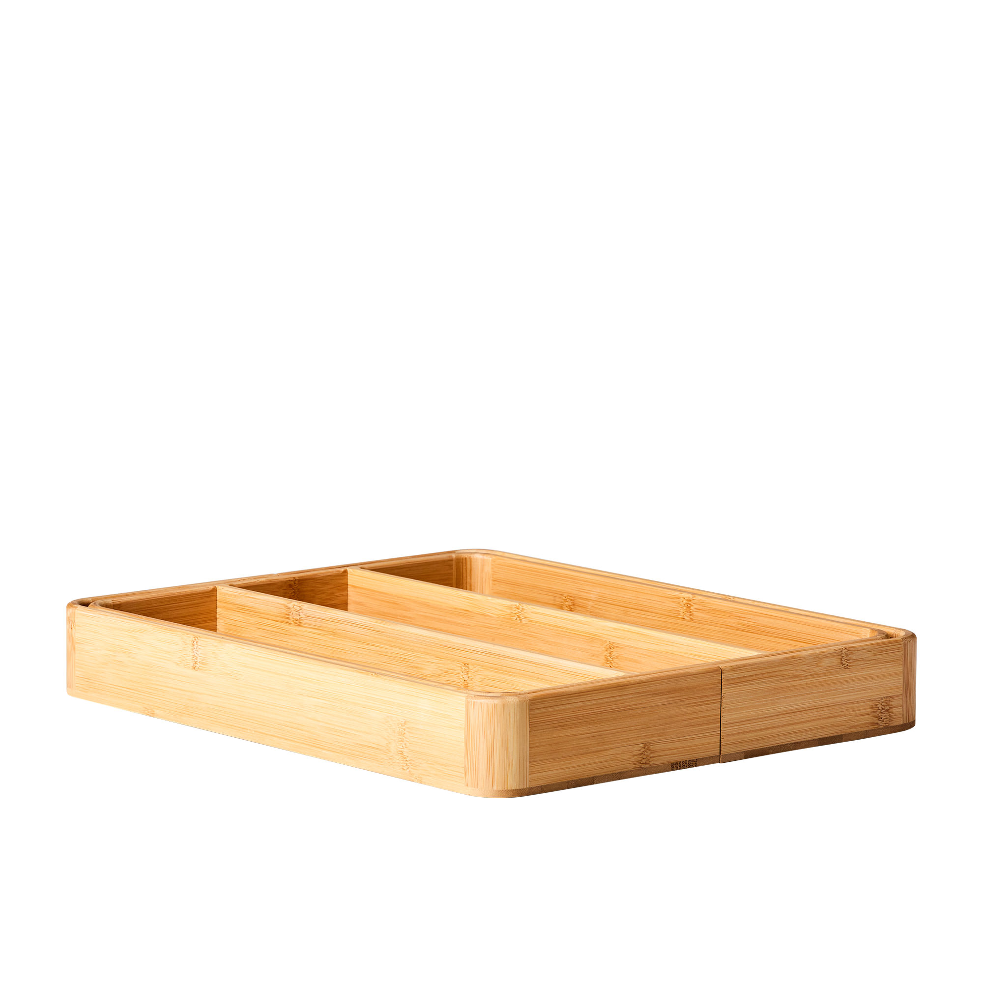 Kitchen Pro Eco Expandable Utensil Tray Natural