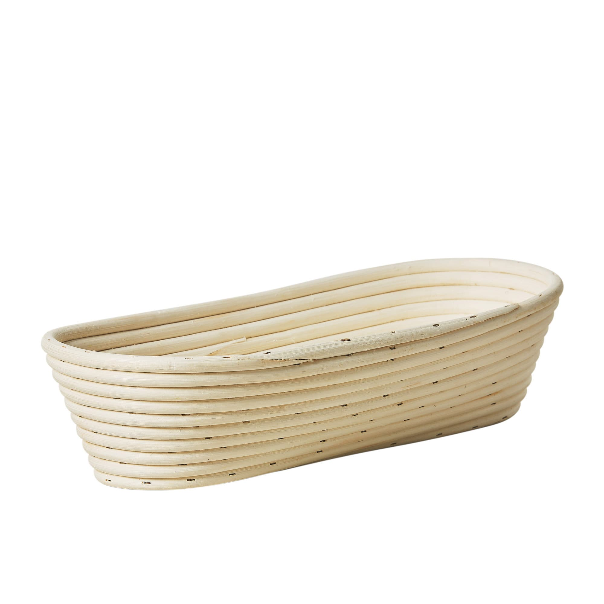 Kitchen Pro Rattan Oval Bread Proving Basket 40x16x9cm