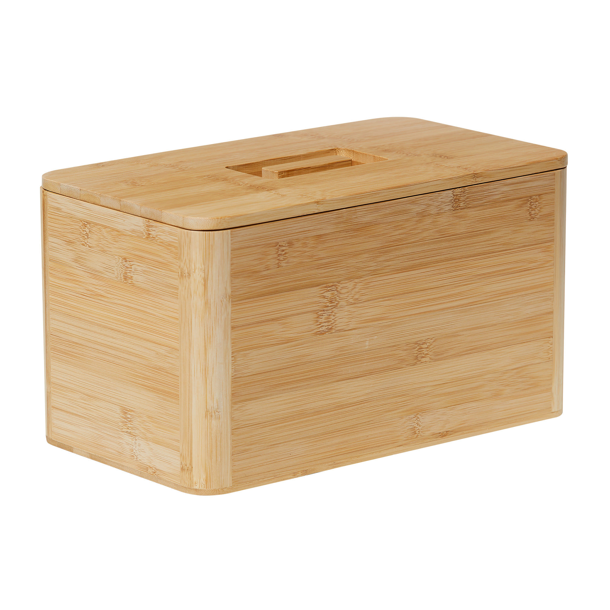 Kitchen Pro Eco Bread Box 30x20x13cm Natural