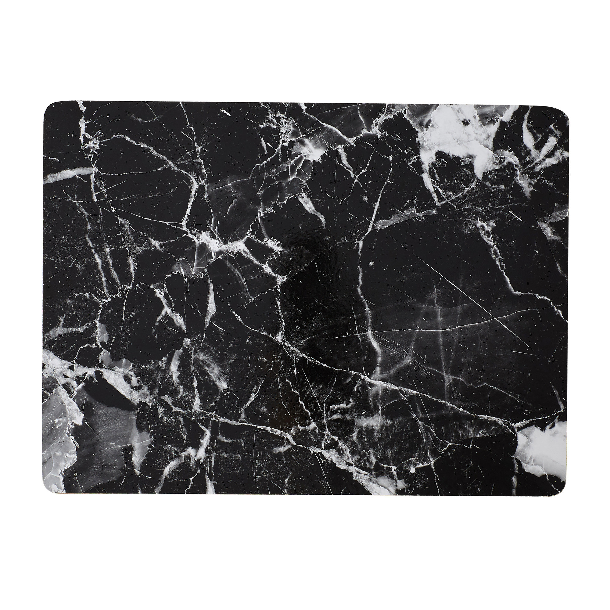 Kitchen Warehouse Marblesque Placemat 30x40cm Black