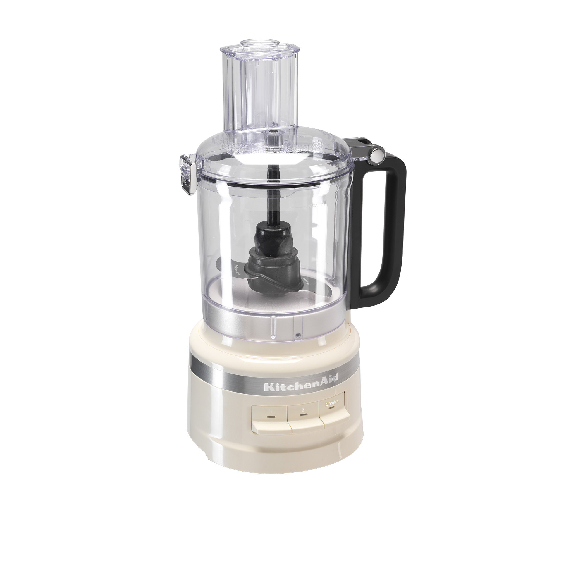 KitchenAid 9 Cup Food Processor Almond Cream