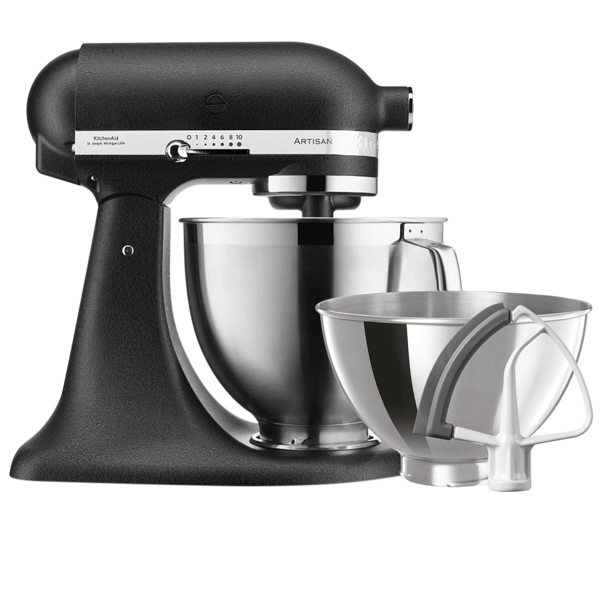 KitchenAid Artisan KSM177 Stand Mixer Cast Iron Black