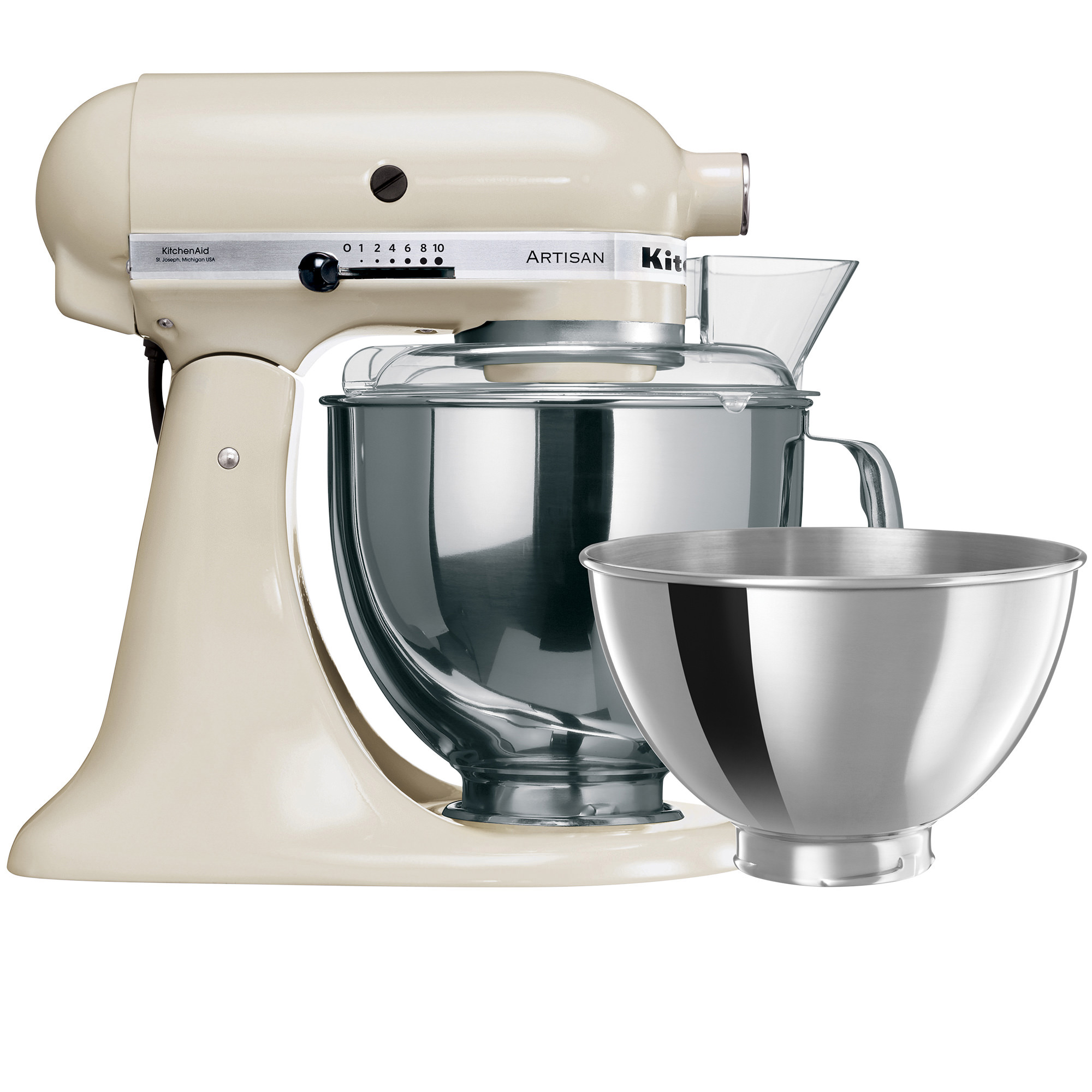 KitchenAid Artisan KSM160 Stand Mixer Almond Cream