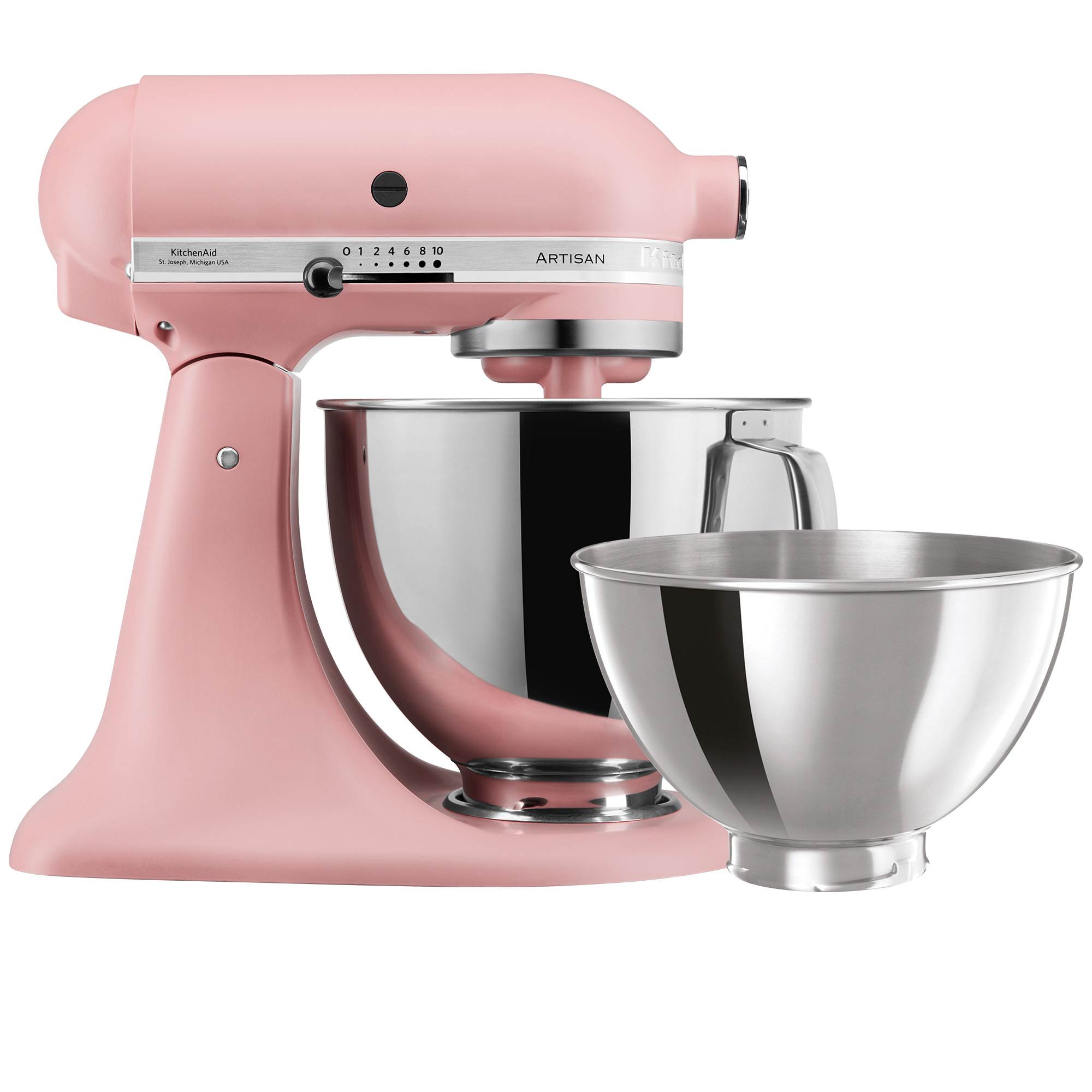 KitchenAid Matte Luxe Artisan KSM160 Stand Mixer Dried Rose