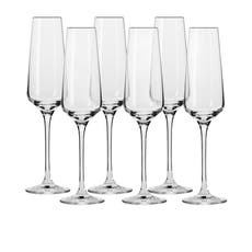 Krosno Avant Garde <b>Champagne Flute</b> 180ml Set of 6