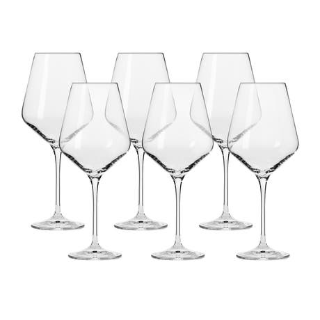 Krosno Avant Garde Wine Glass 490ml Set of 6