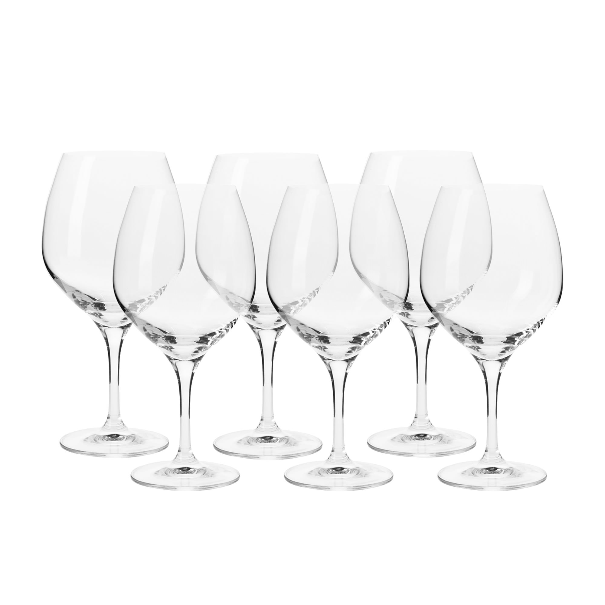 Krosno Harmony 6pc Pinot Glass Set 600ml