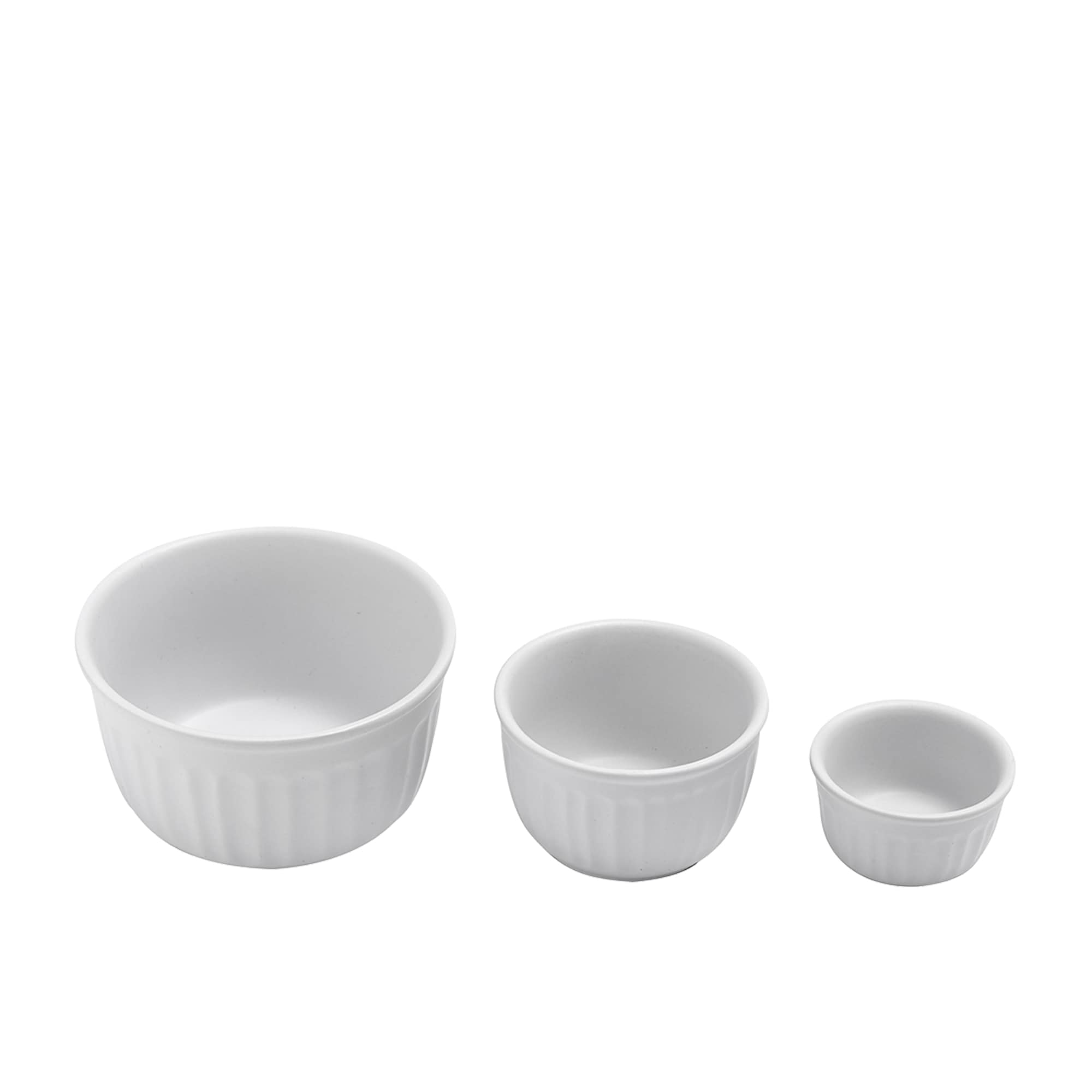 Ladelle Abode 3pc Ramekin Set White