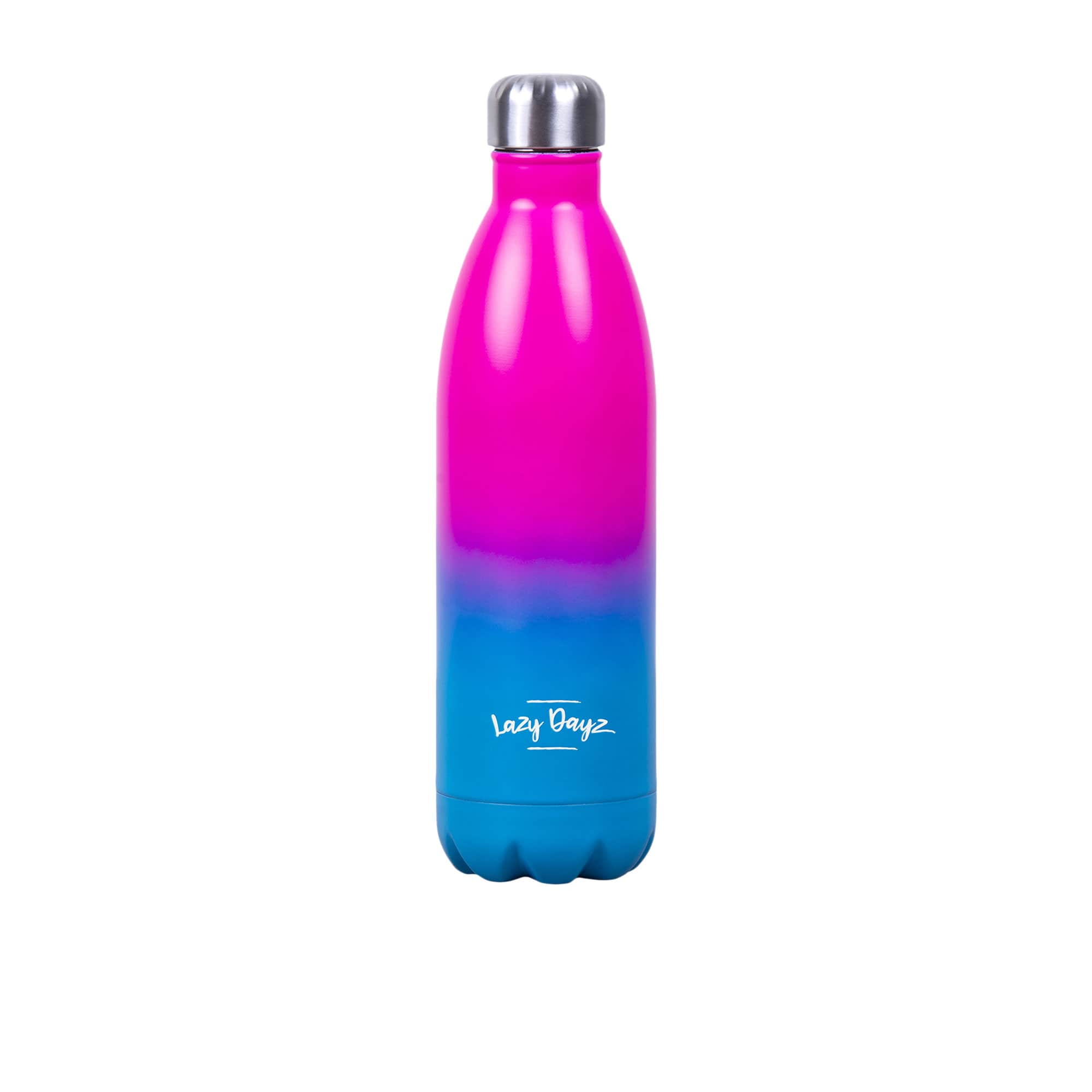 Lazy Dayz Jumbo Stainless Steel Bottle 1L Pink