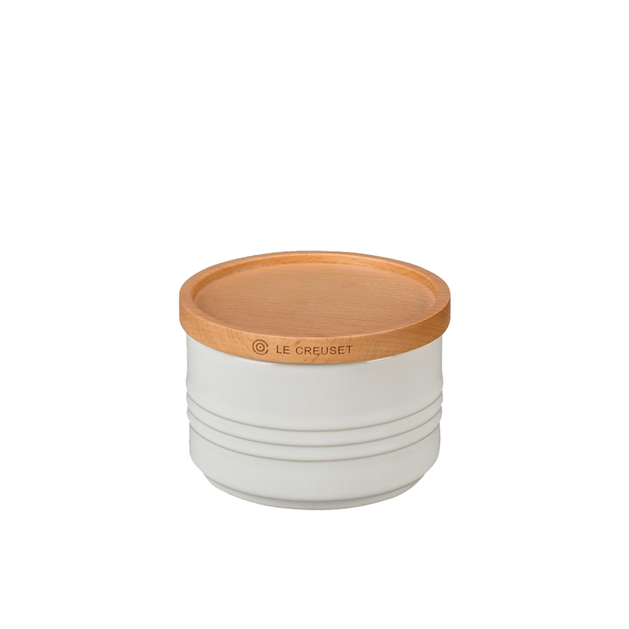 Le Creuset Stoneware Storage Canister Small Cotton
