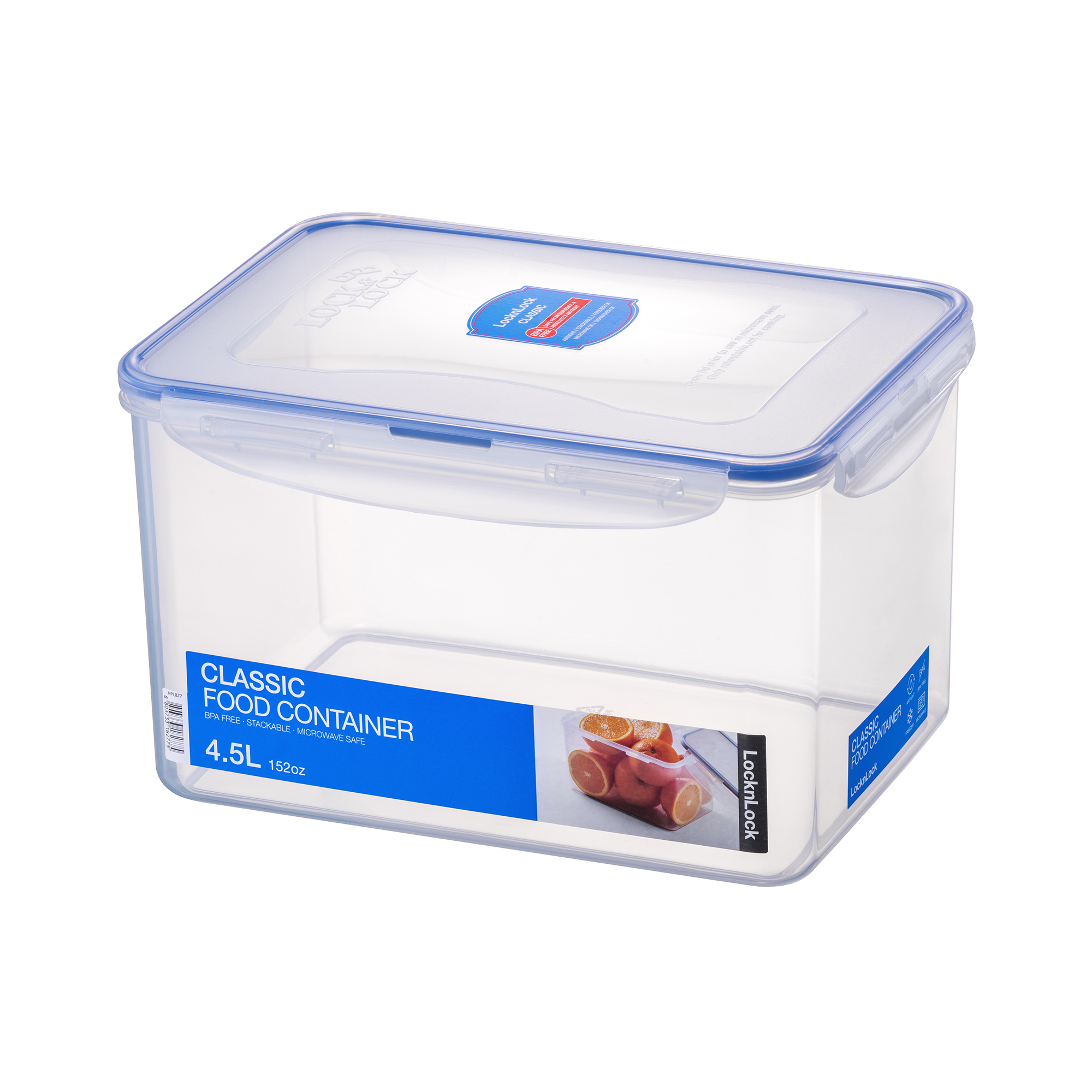 Lock & Lock Classic Food Container Tall 4.5L