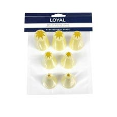 Loyal 7pc Star Tube Set