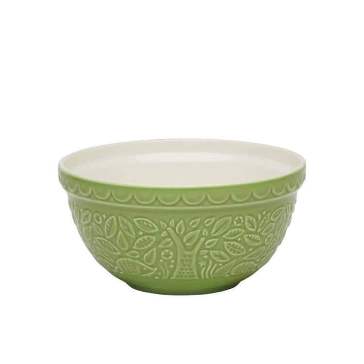 Mason Cash In The Forest Mixing Bowl 21cm Hedgehog - Green