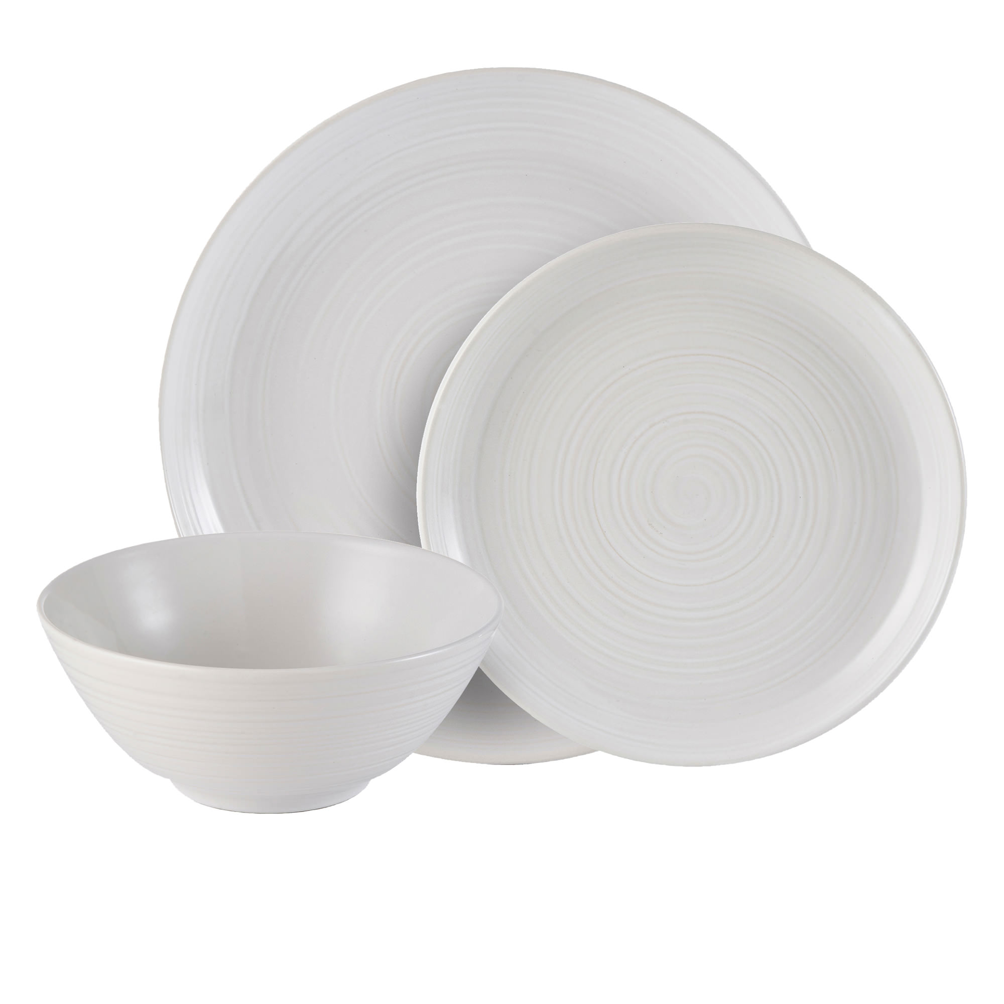 Mason Cash William Mason 12pc Dinner Set White