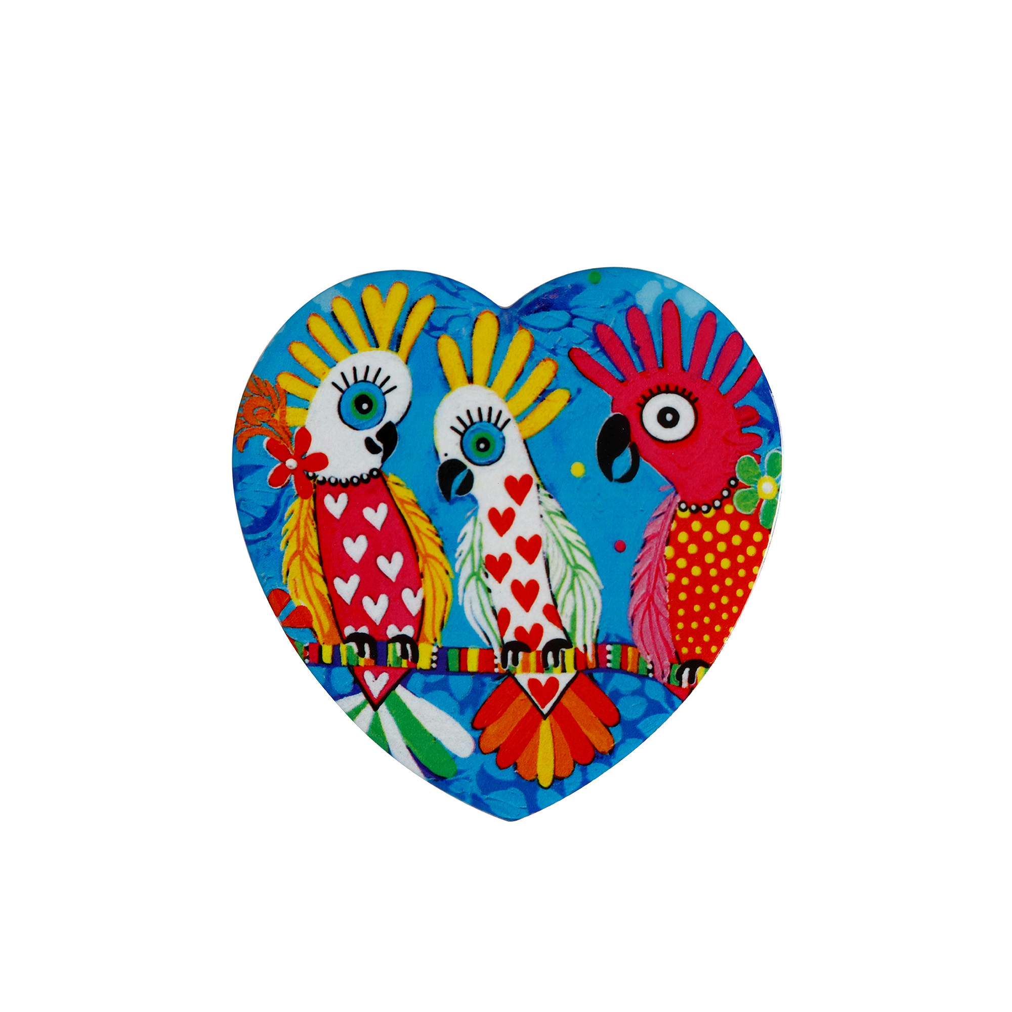 Maxwell & Williams Love Hearts Heart Shaped Coaster Chatter