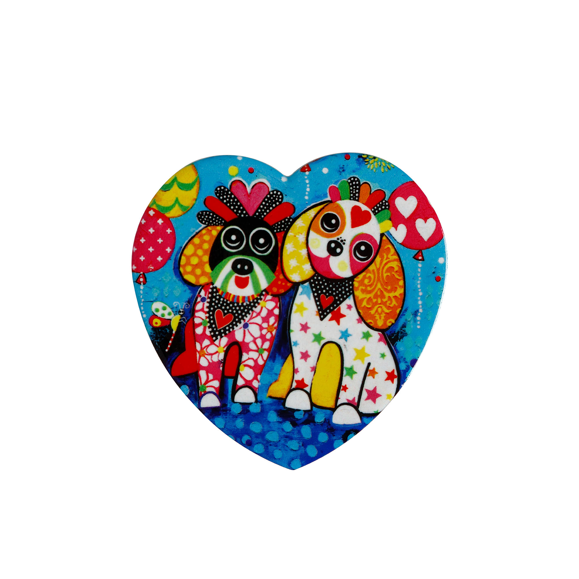 Maxwell & Williams Love Hearts Heart Shaped Coaster Oodles Of Love