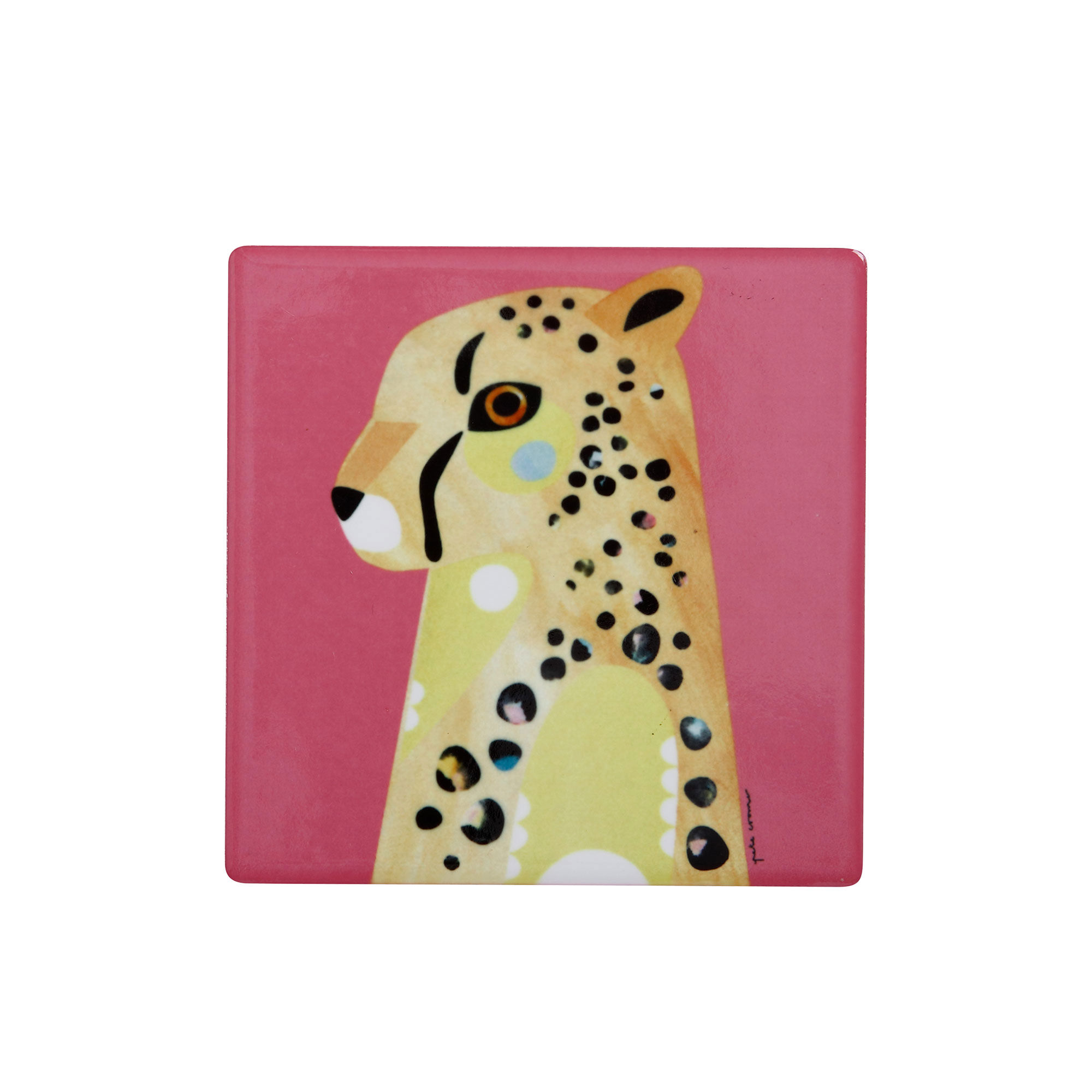 Maxwell & Williams Pete Cromer Wildlife Coaster Cheetah