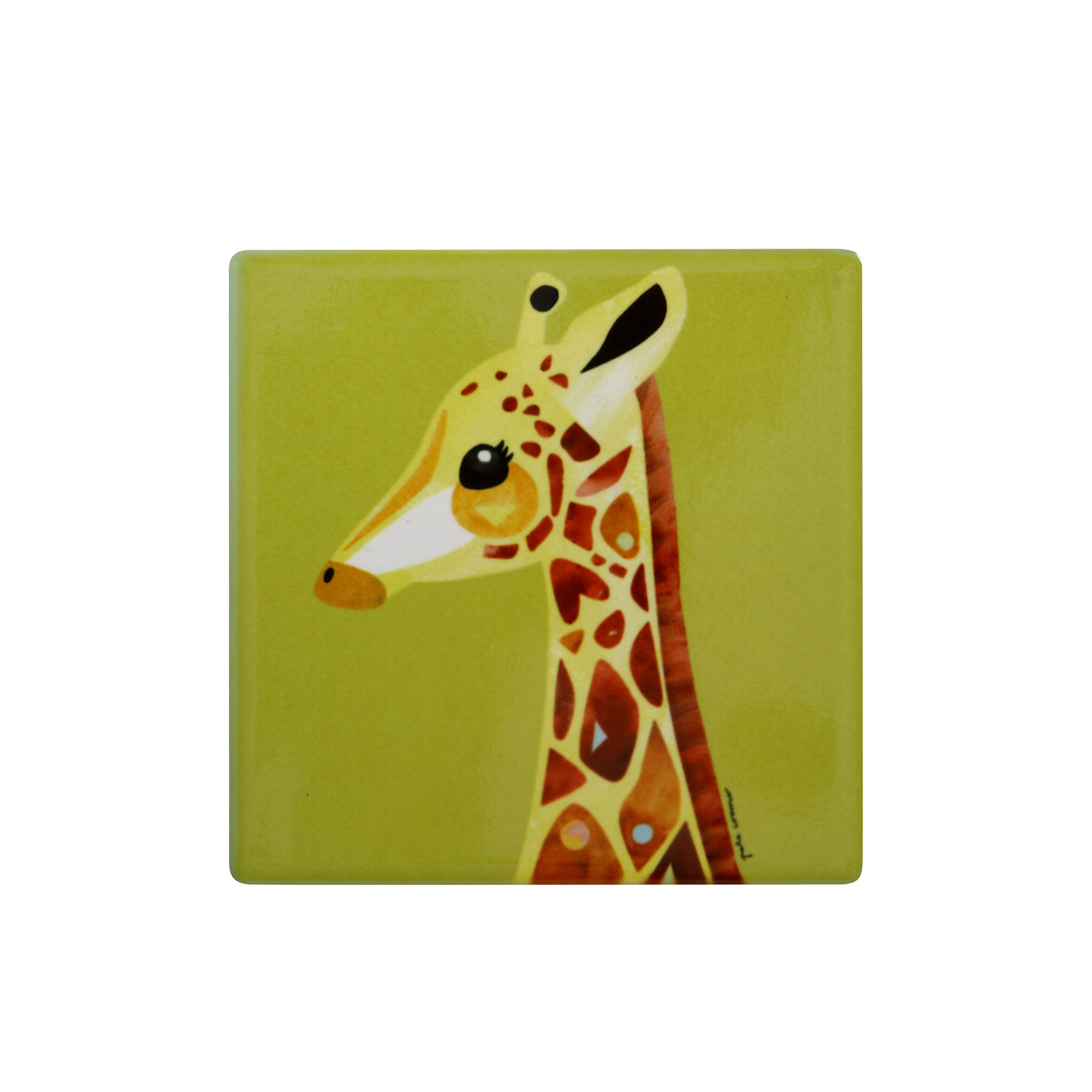 Maxwell & Williams Pete Cromer Wildlife Coaster Giraffe