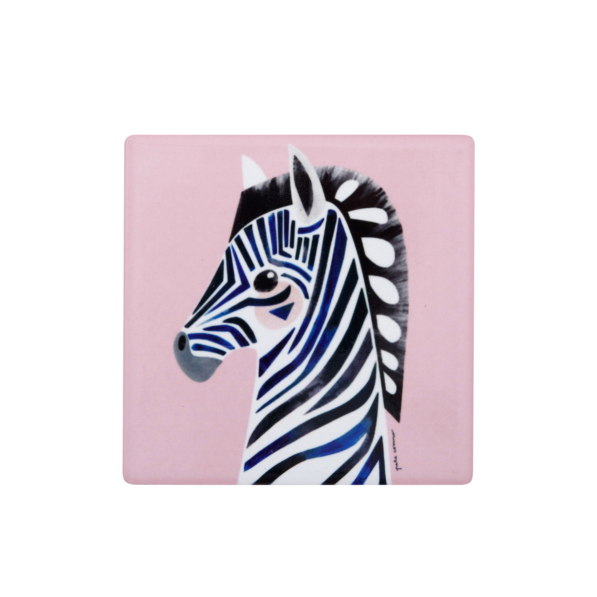 Maxwell & Williams Pete Cromer Wildlife Coaster Zebra
