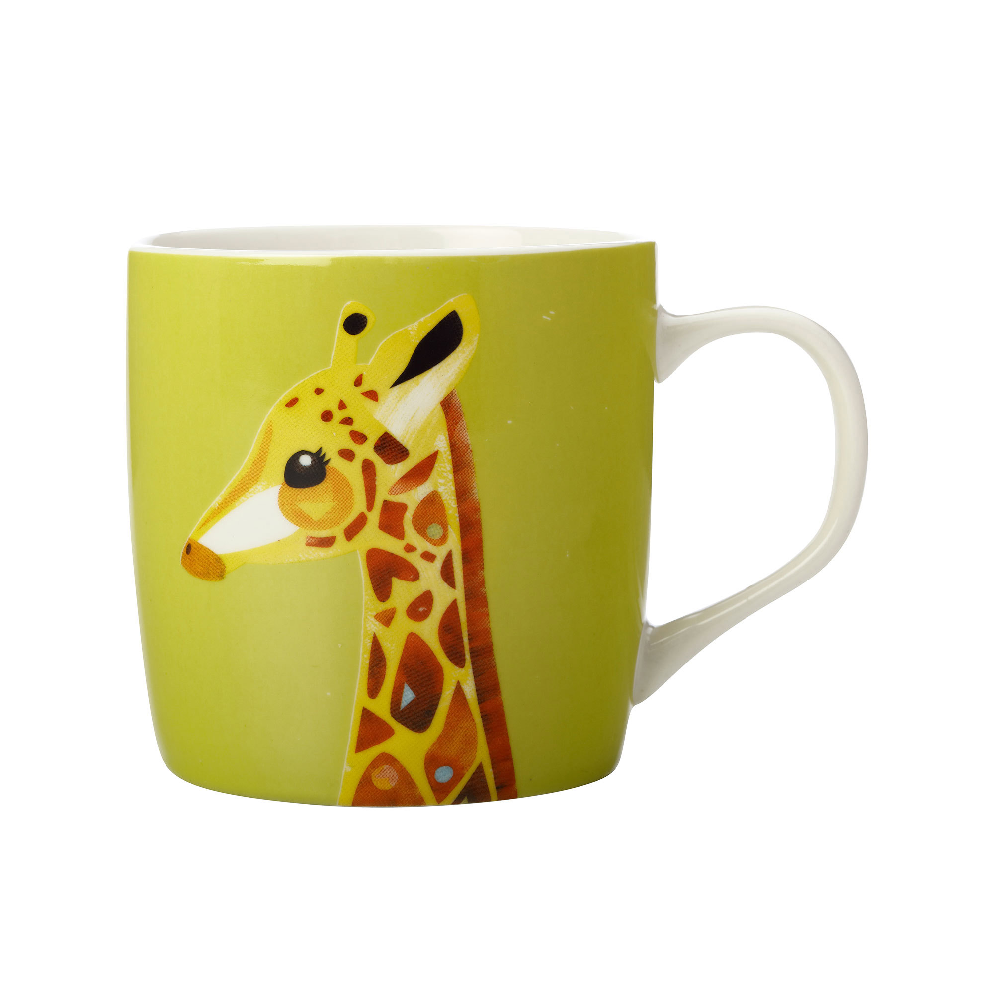 Maxwell & Williams Pete Cromer Wildlife Mug 375ml Giraffe