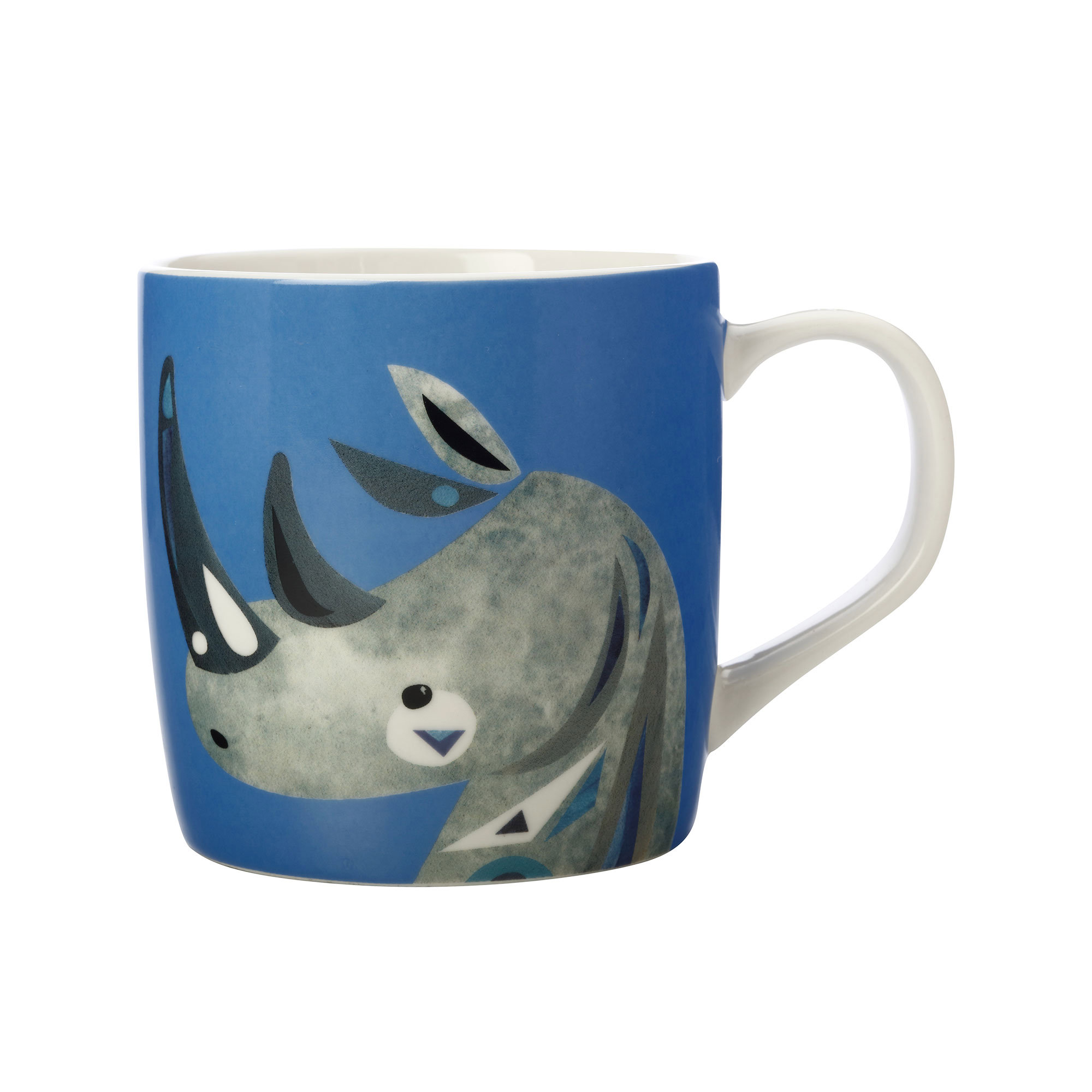 Maxwell & Williams Pete Cromer Wildlife Mug 375ml Rhino