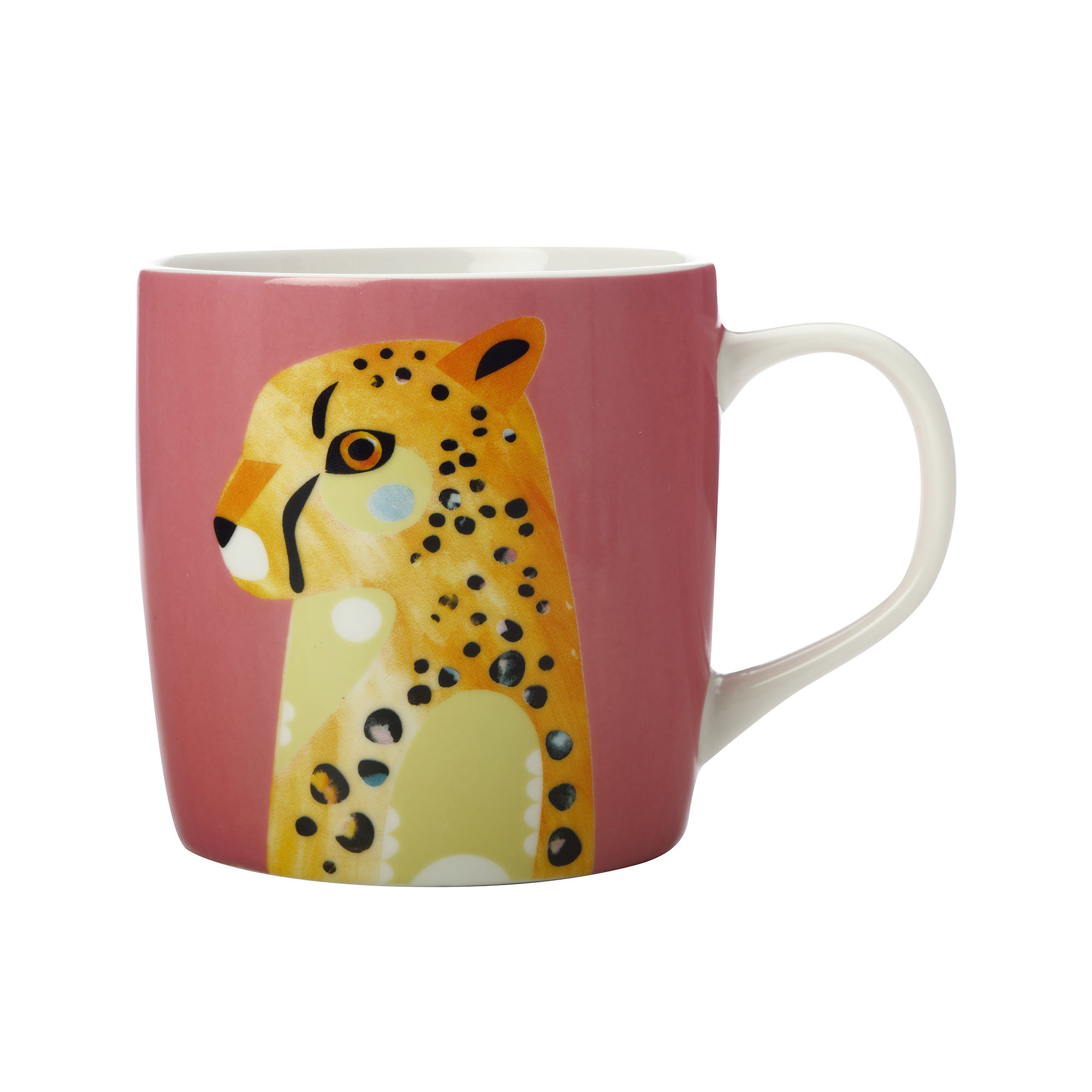 Maxwell & Williams Pete Cromer Wildlife Mug Cheetah