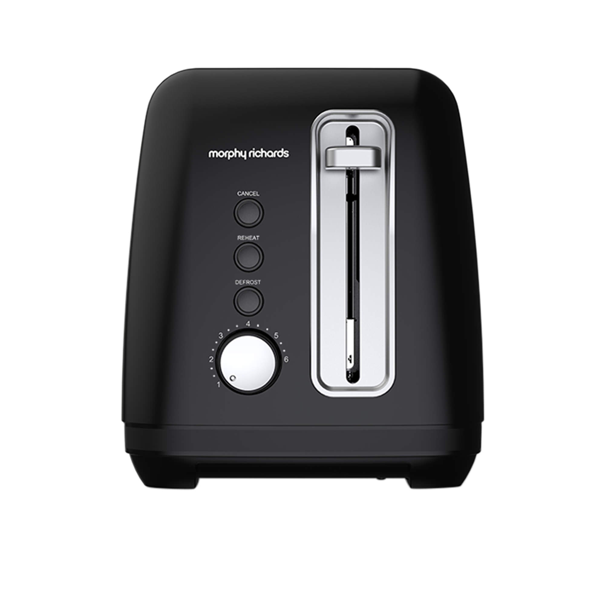 Morphy Richards Equip 2 Slice Toaster Black