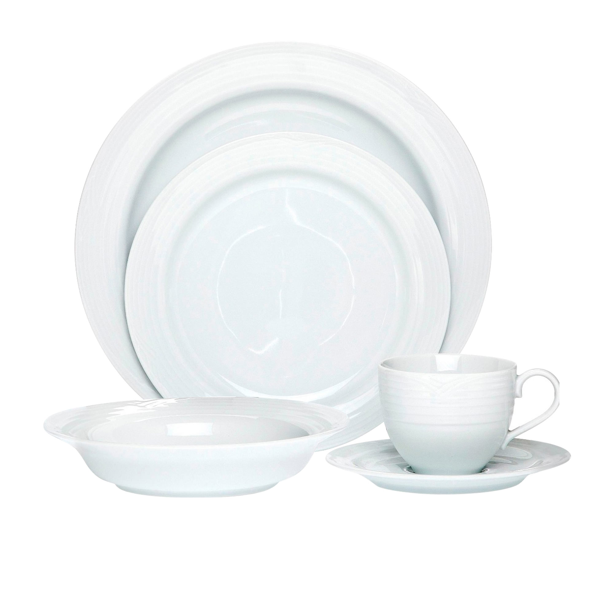 Noritake Arctic White 20pc Dinner Set