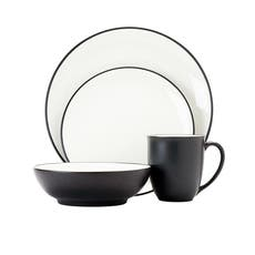 Colorwave  Graphite 16pc Dinner Set