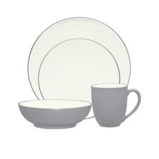 Colorwave Slate 16pc Dinner Set