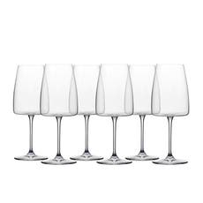 Noritake IVV Cortona 6pc White Wine <b>Glass</b> Set 510ml