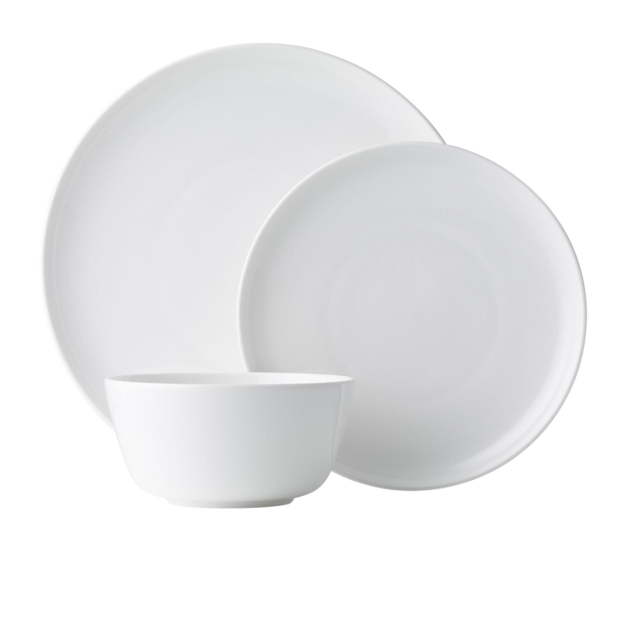Noritake Marc Newson 12pc Dinner Set White