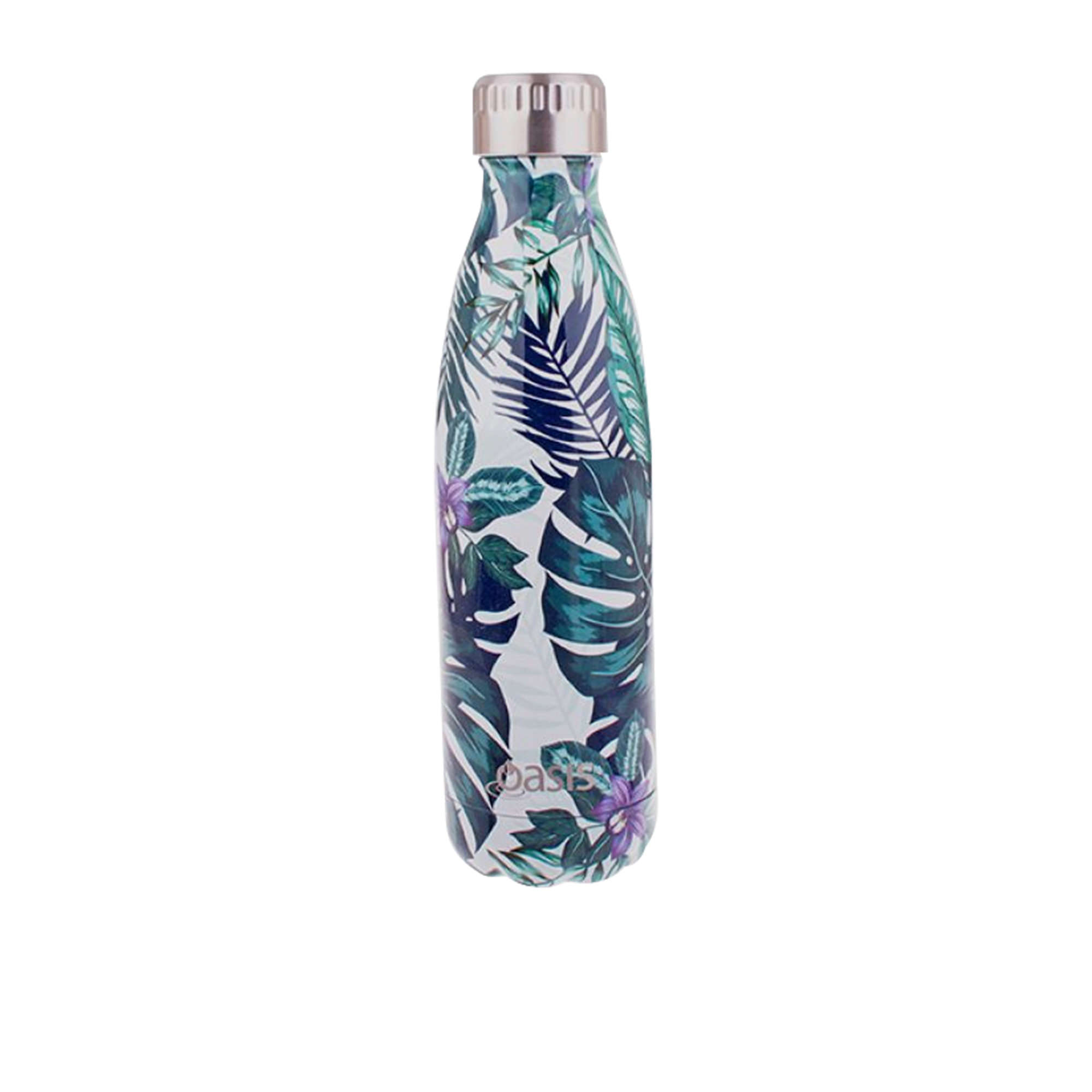 Oasis Double Wall Insulated Drink Bottle 500ml Tropical Paradise