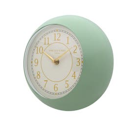 One Six Eight London Emily Metal Wall Clock 21cm Sage