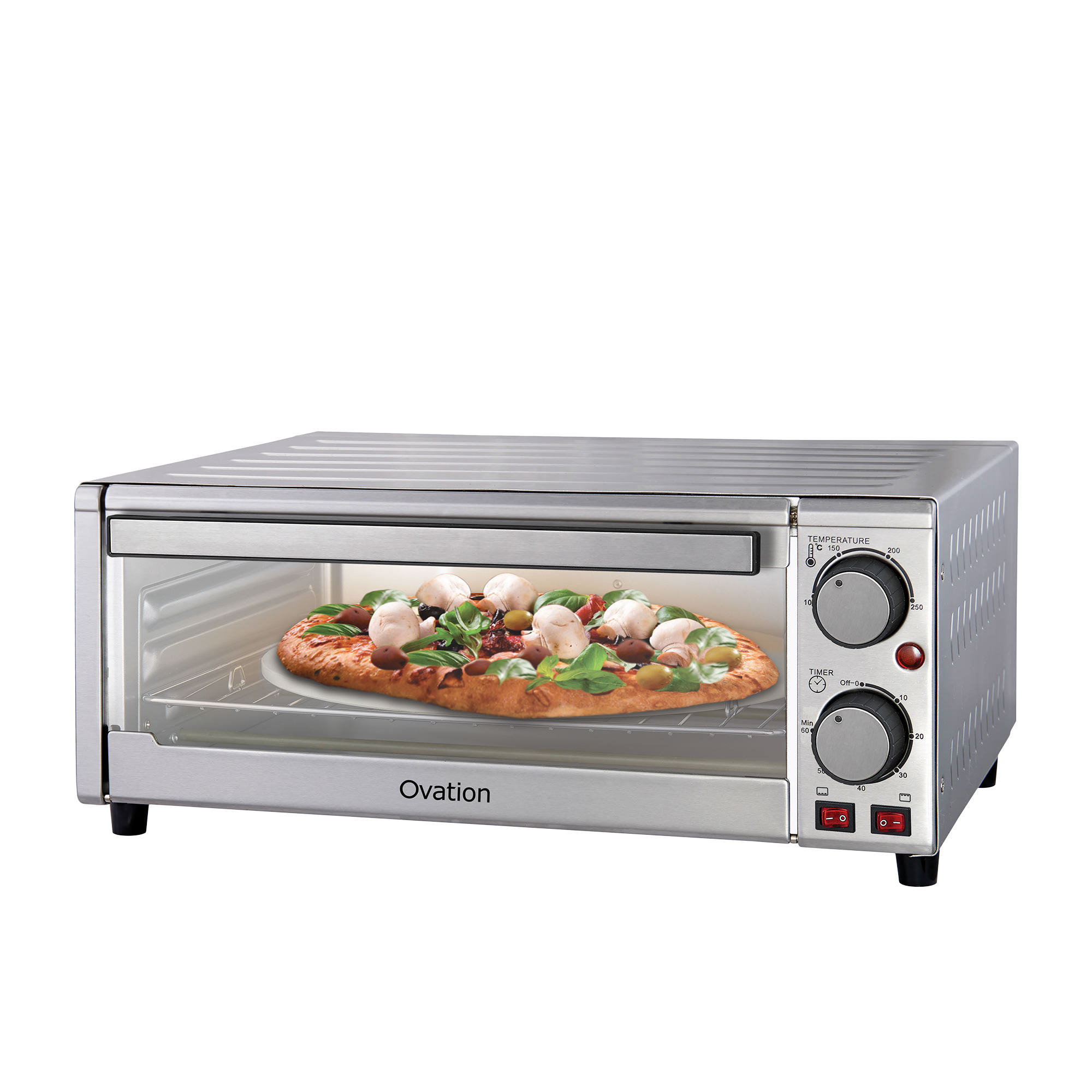 Ovation Pizza Maker Stainless Steel