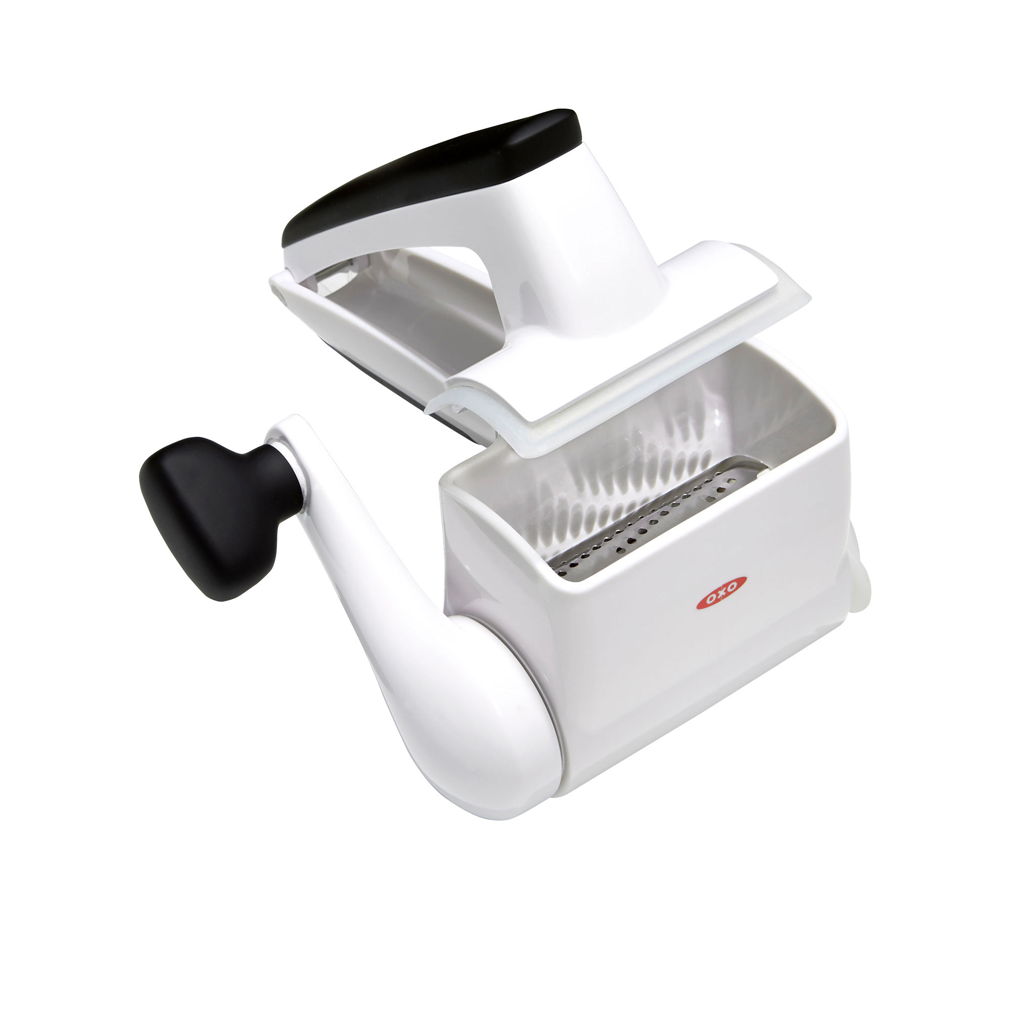 Oxo Good Grips Seal & Store Rotary Grater White