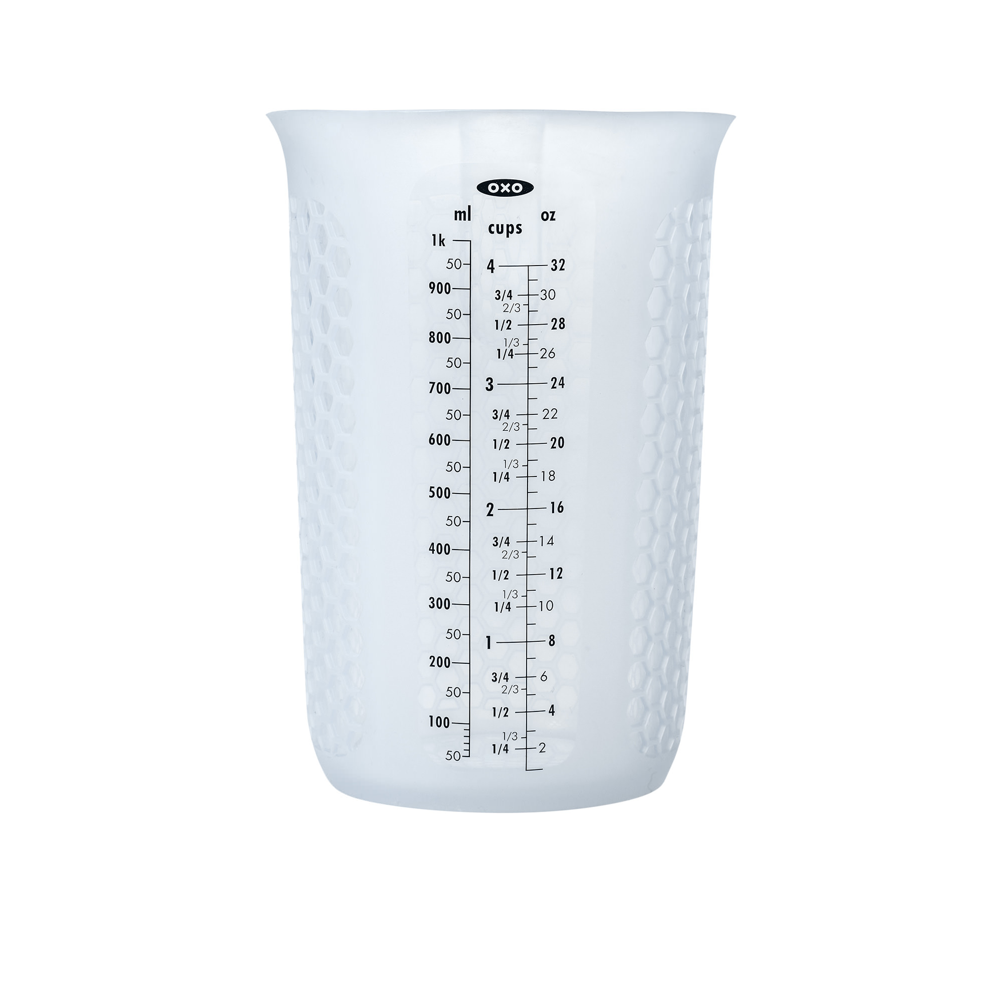 Oxo Good Grips Squeeze & Pour Silicone Measuring Jug 1L