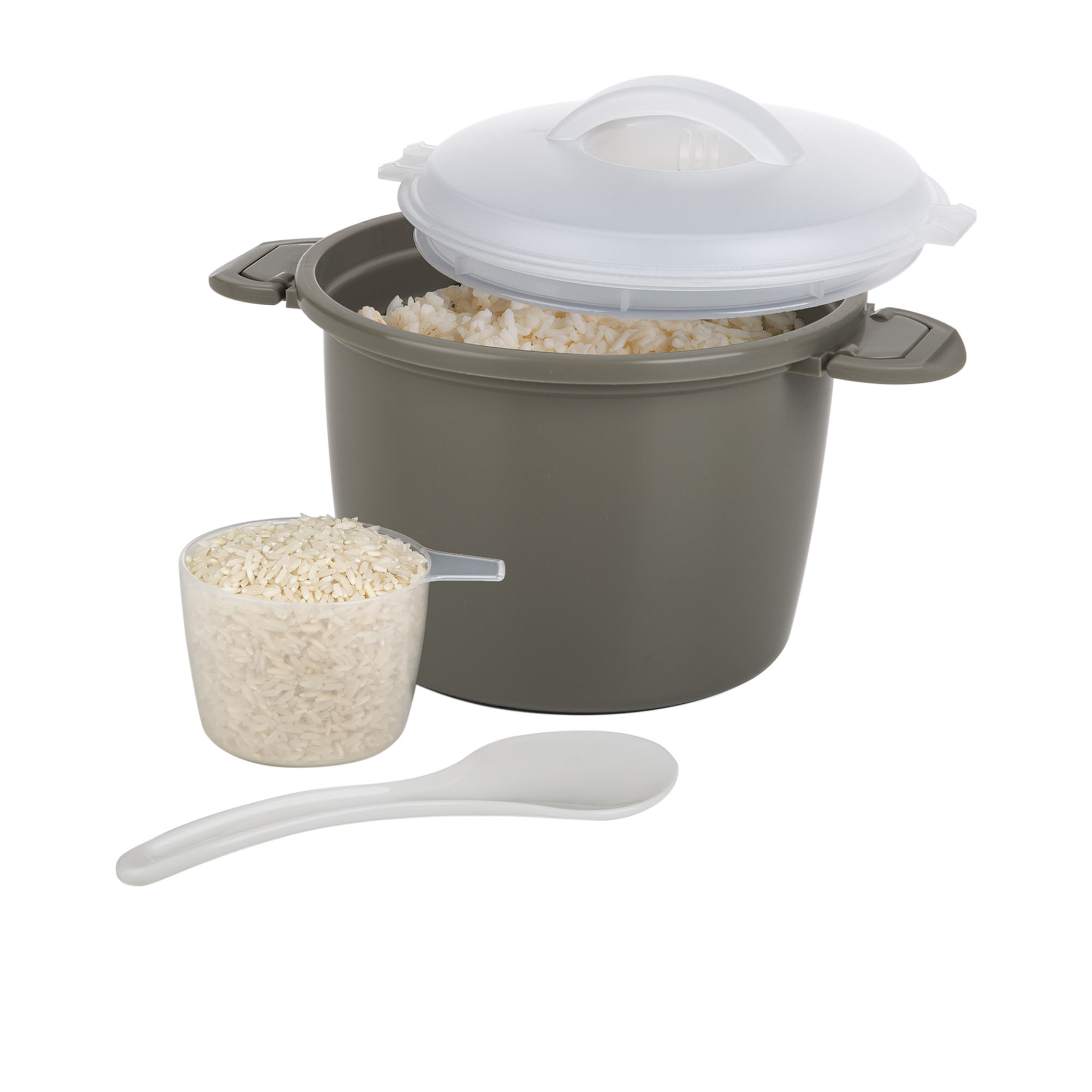 Progressive Prep Solutions Microwave Rice Cooker Set
